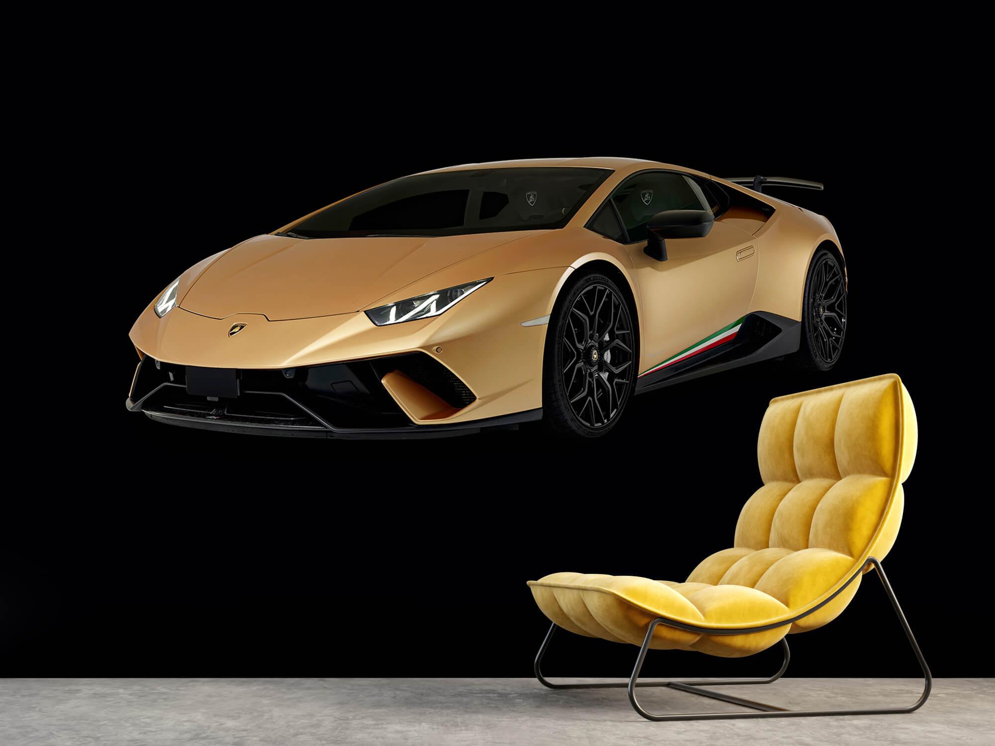 Wallpaper Lamborghini Huracán - Right Front, black 3