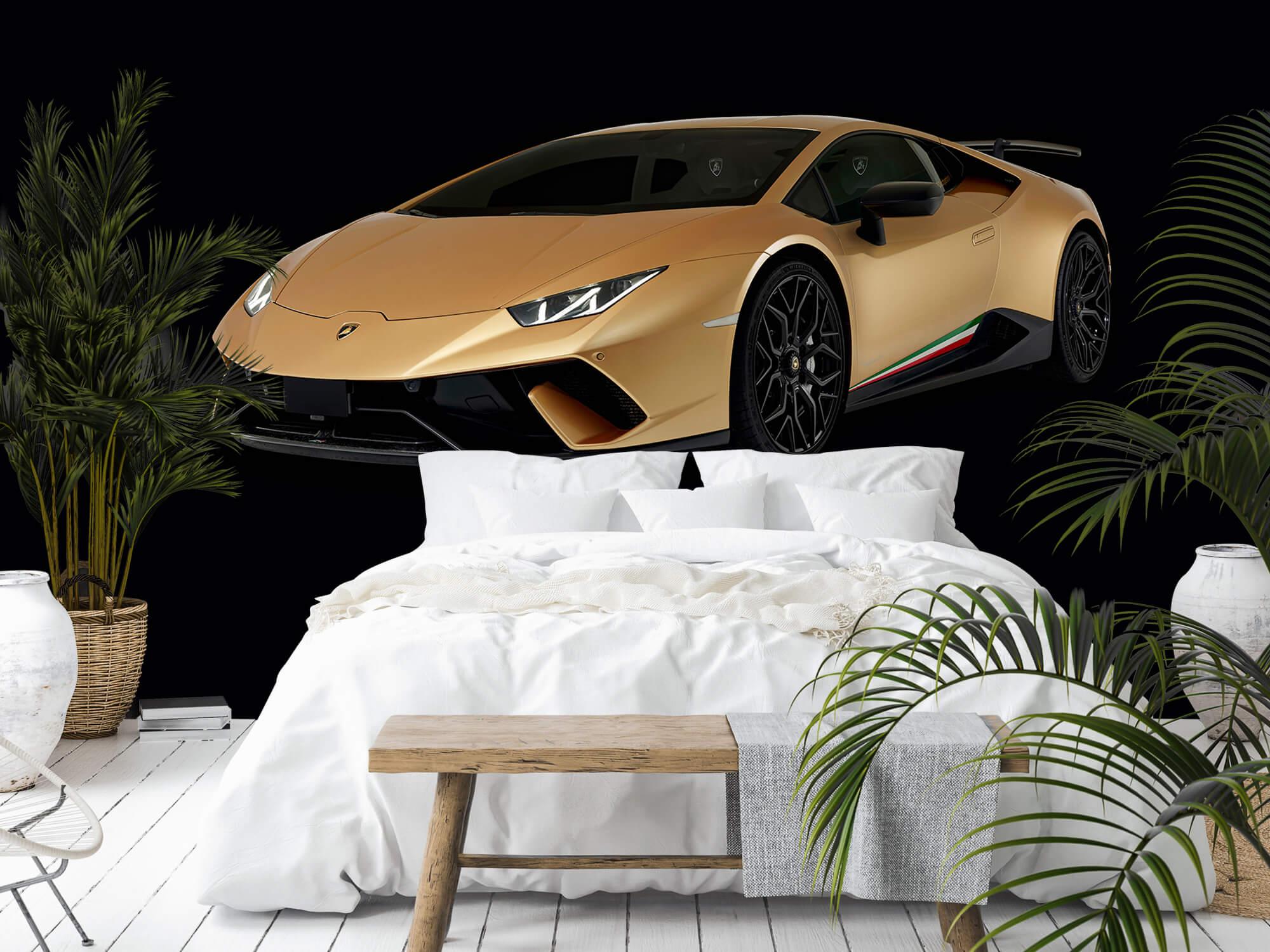 Wallpaper Lamborghini Huracán - Right Front, black 11