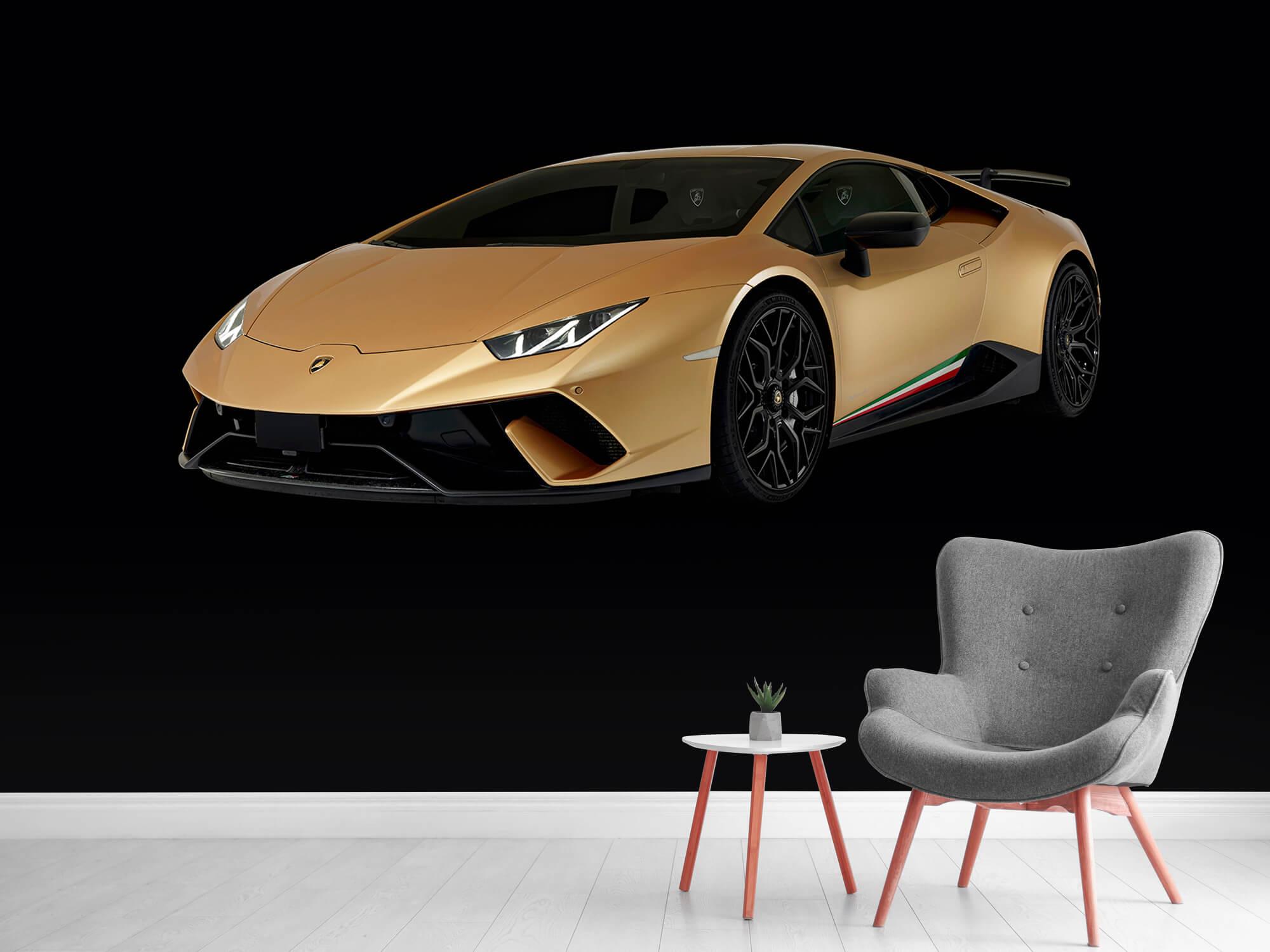 Wallpaper Lamborghini Huracán - Right Front, black 5