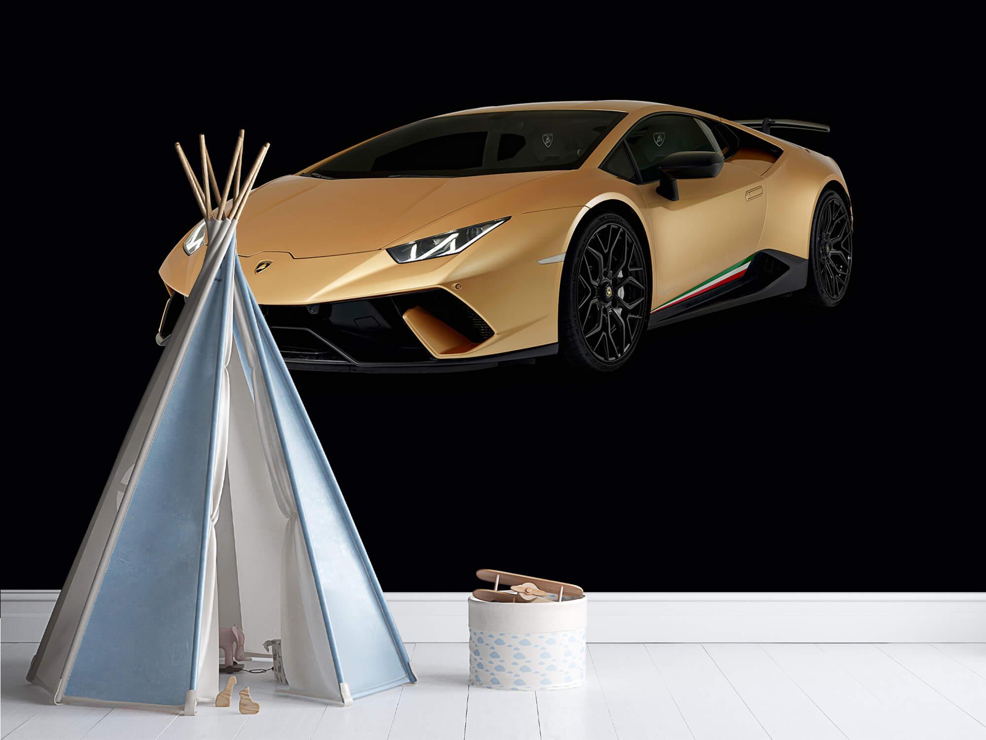Wallpaper Lamborghini Huracán - Right Front, black 12