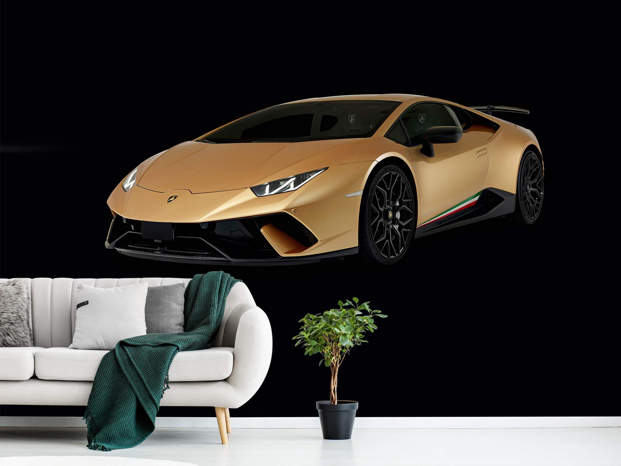 Wallpaper Lamborghini Huracán - Right Front, black 1