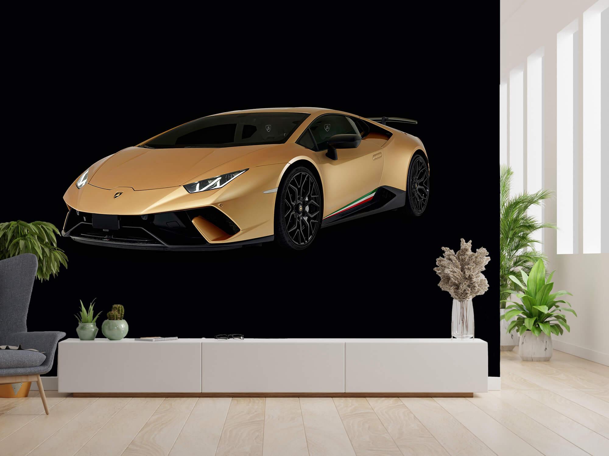 Wallpaper Lamborghini Huracán - Right Front, black 4