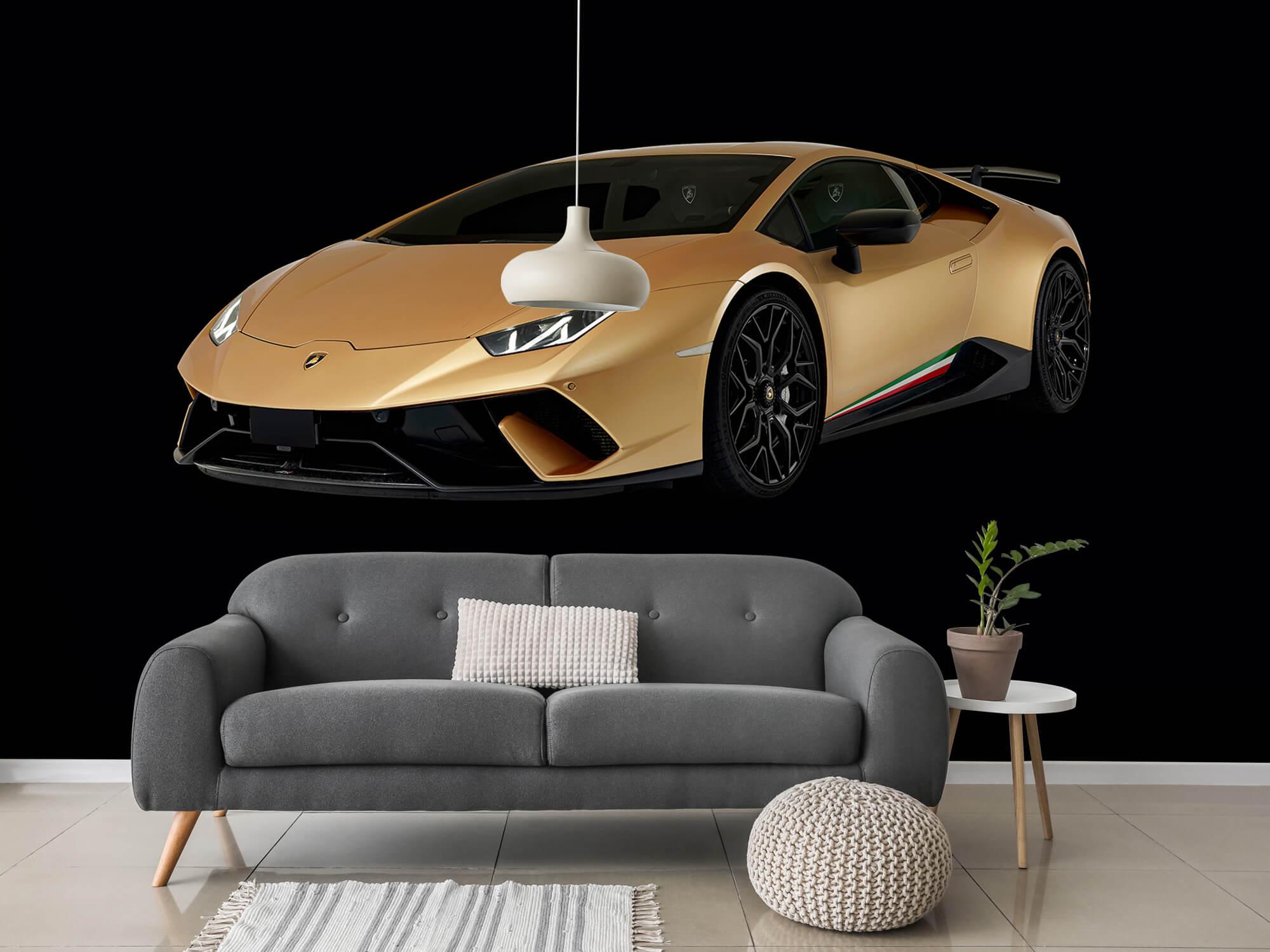 Wallpaper Lamborghini Huracán - Right Front, black 15