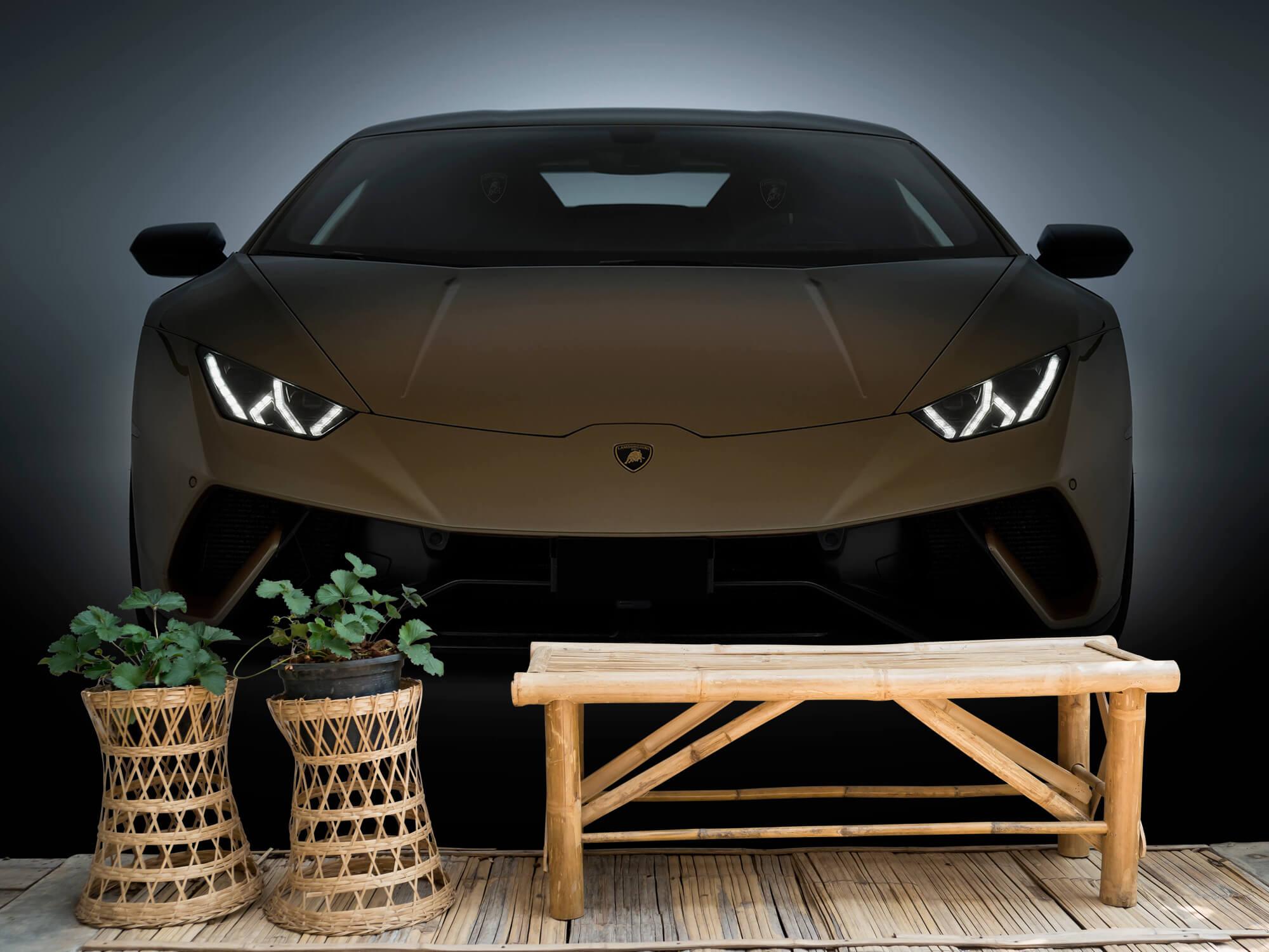 Wallpaper Lamborghini Huracán - Front Side 8