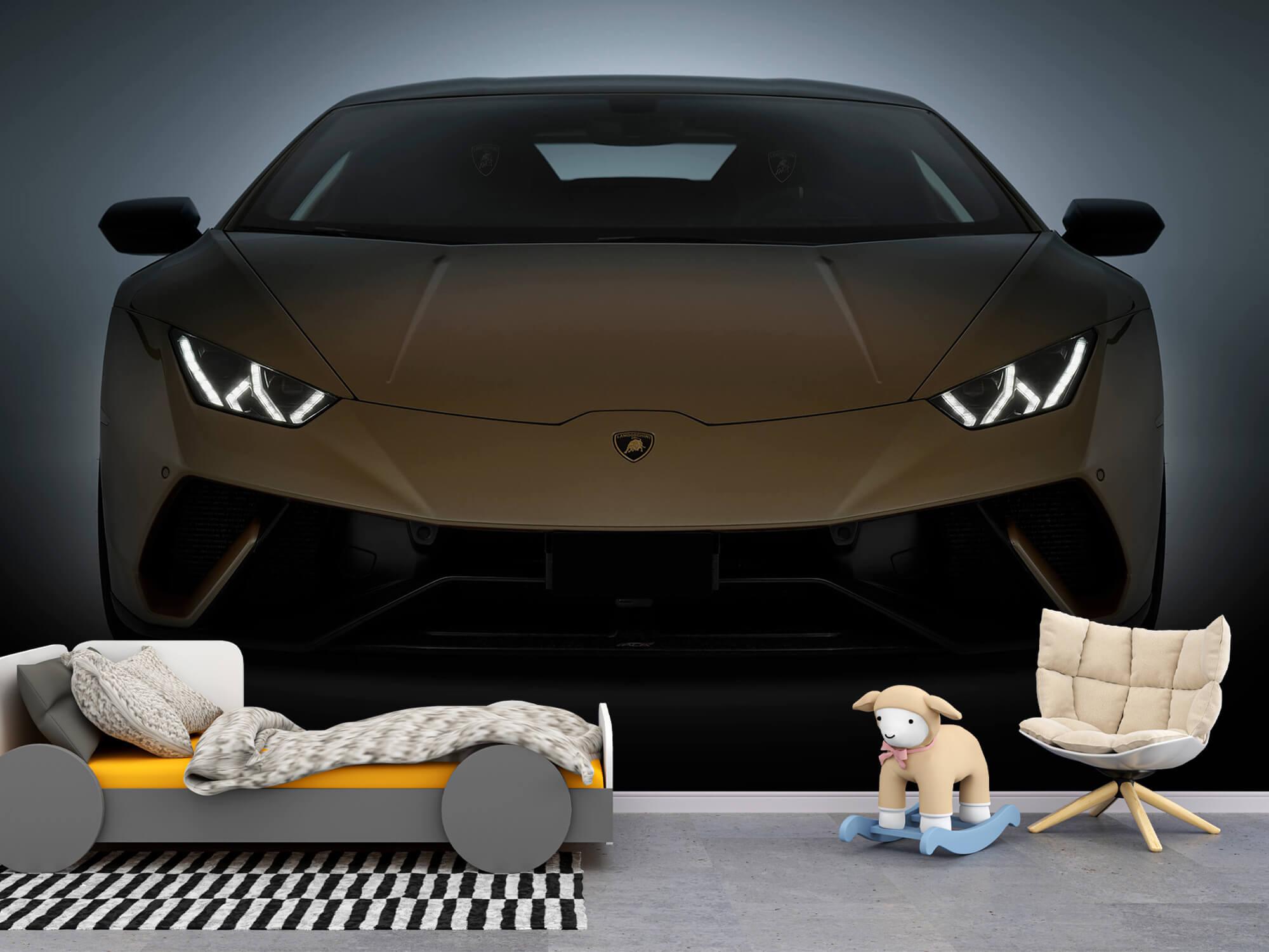 Wallpaper Lamborghini Huracán - Front Side 10