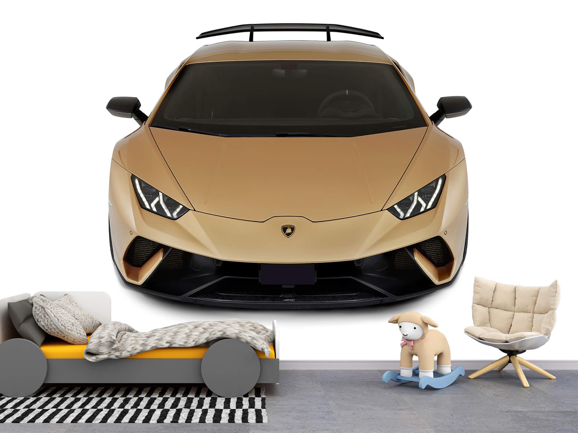 Wallpaper Lamborghini Huracán - Front from above, white 10