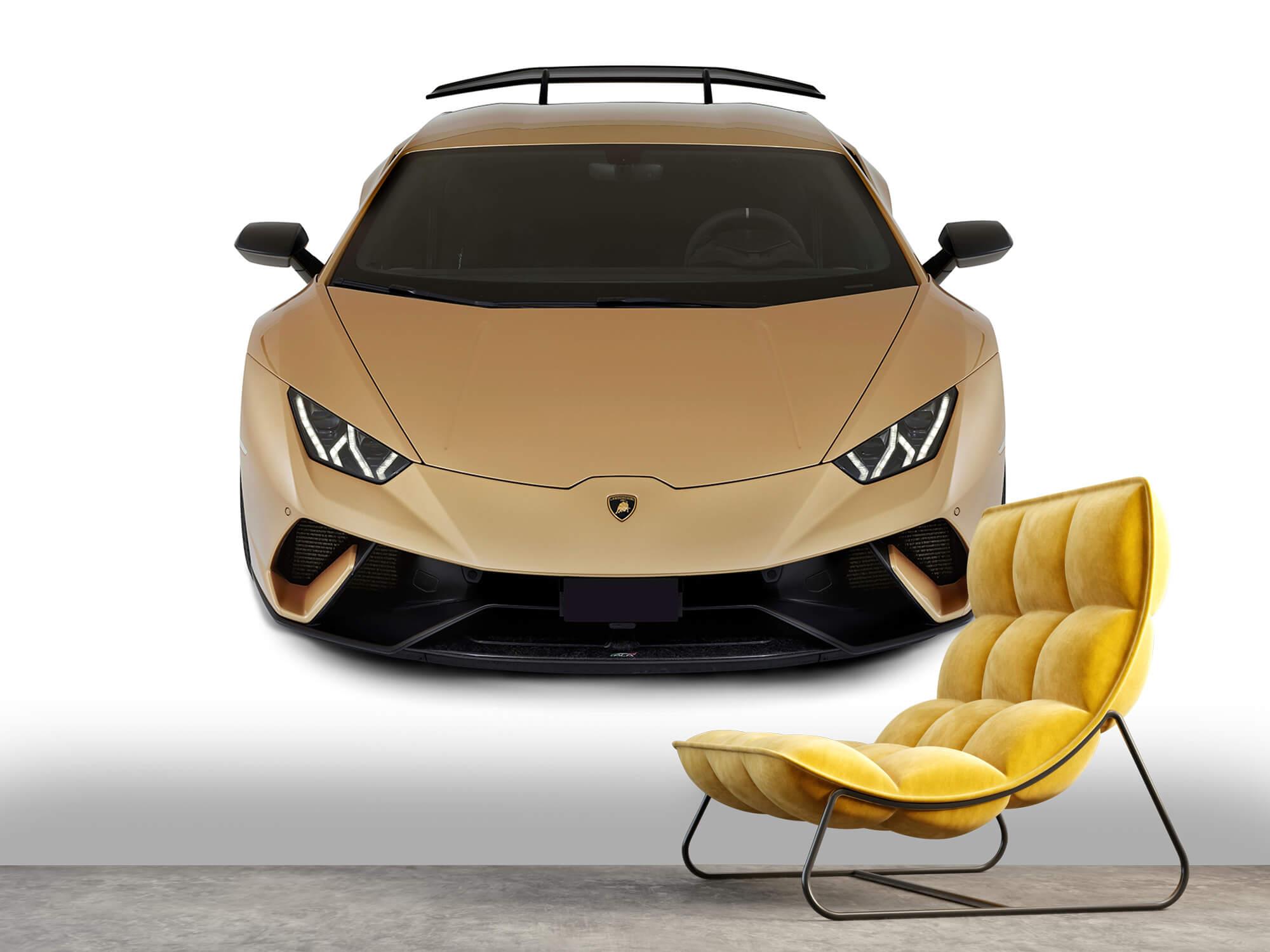 Wallpaper Lamborghini Huracán - Front from above, white 12