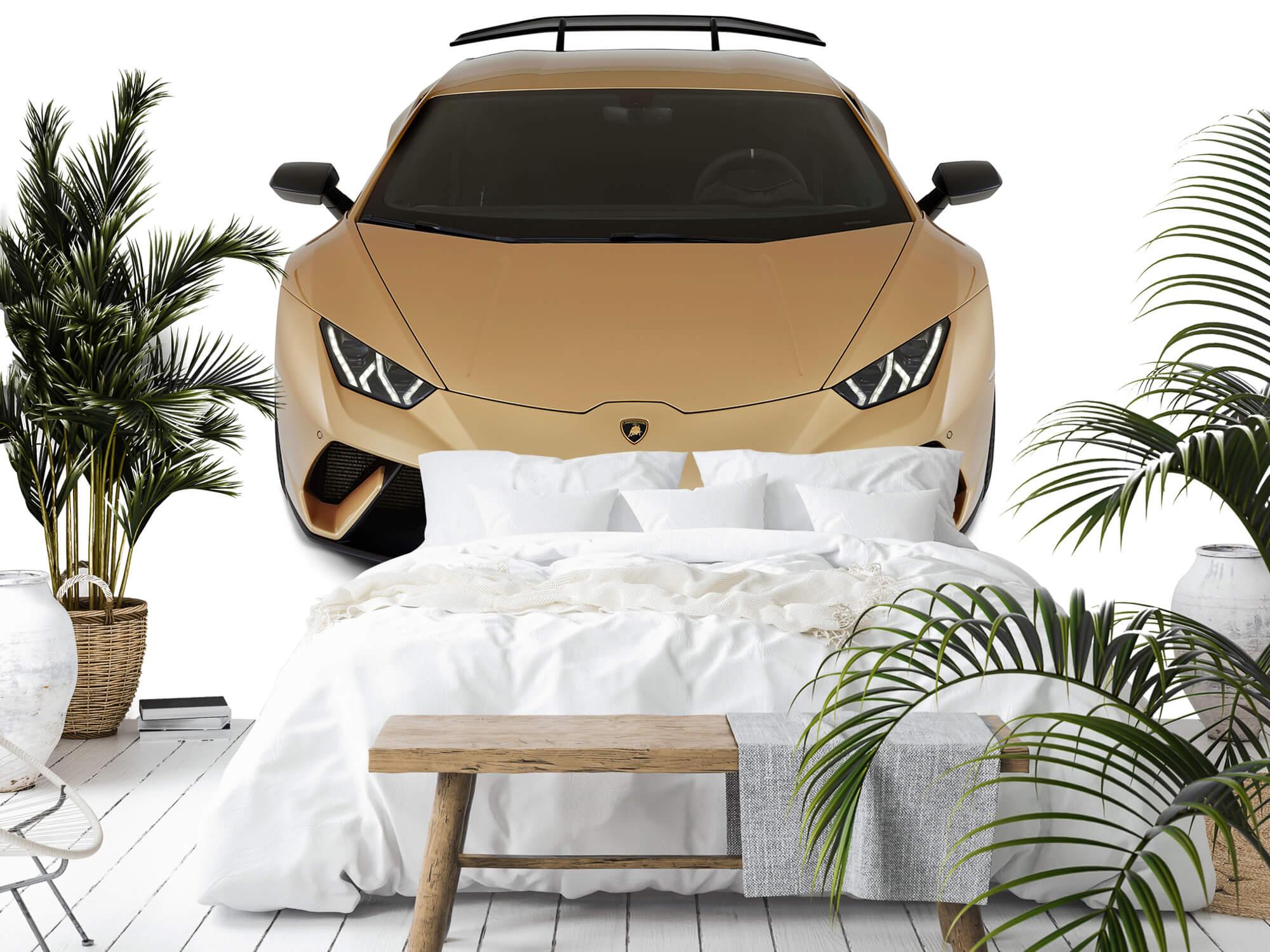 Wallpaper Lamborghini Huracán - Front from above, white 11
