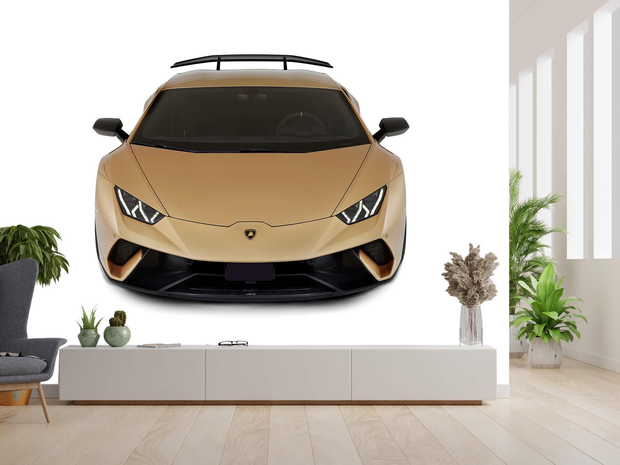 Wallpaper Lamborghini Huracán - Front from above, white 4