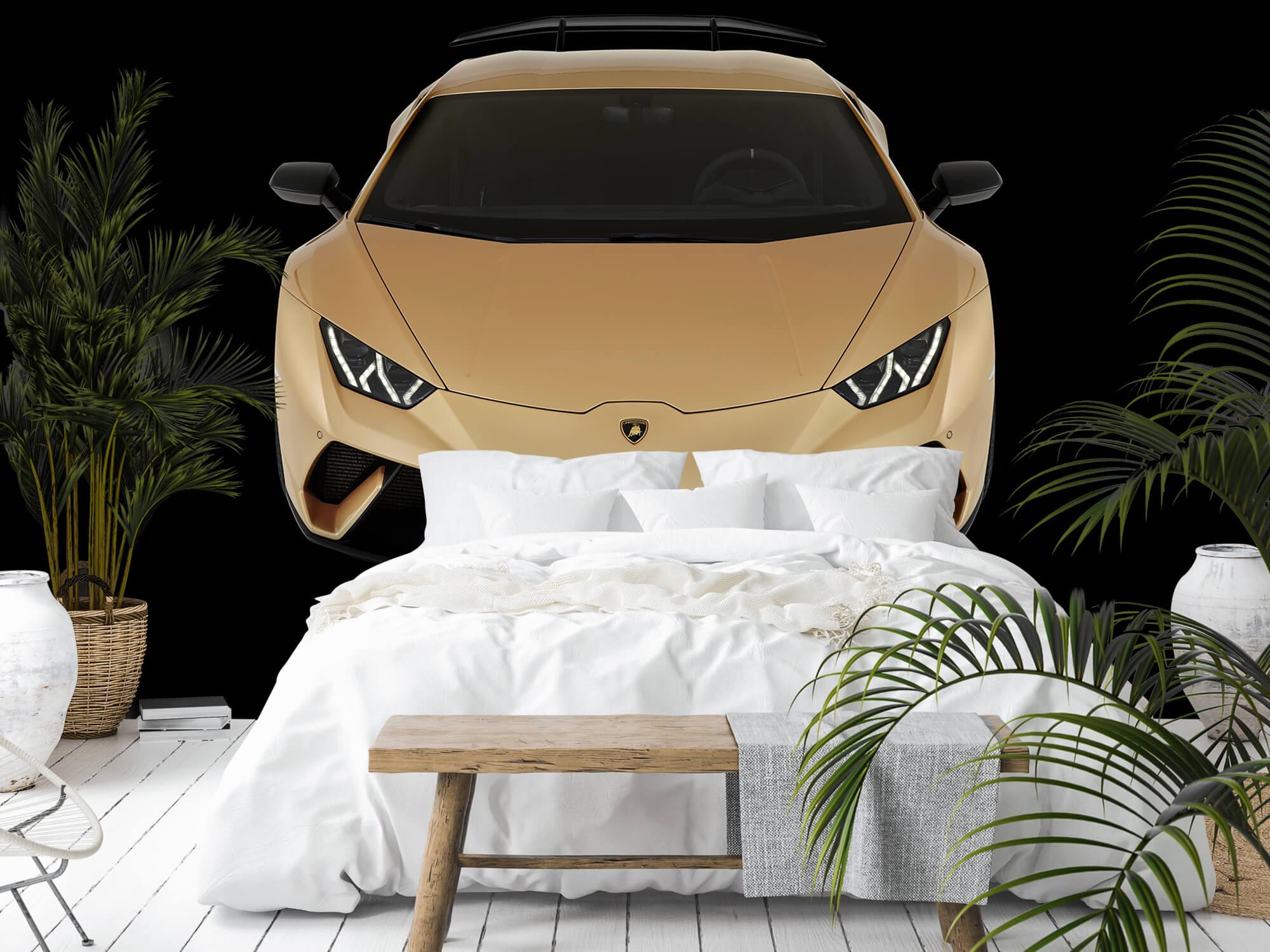 Wallpaper Lamborghini Huracán - Front from above, black 9