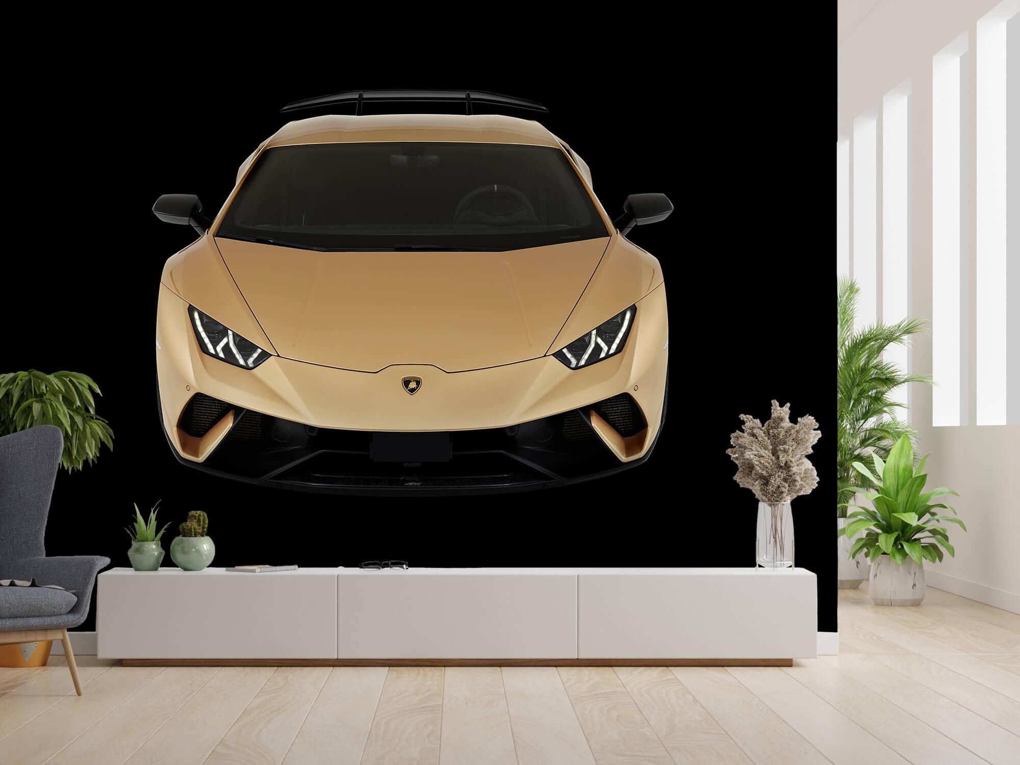 Wallpaper Lamborghini Huracán - Front from above, black 14