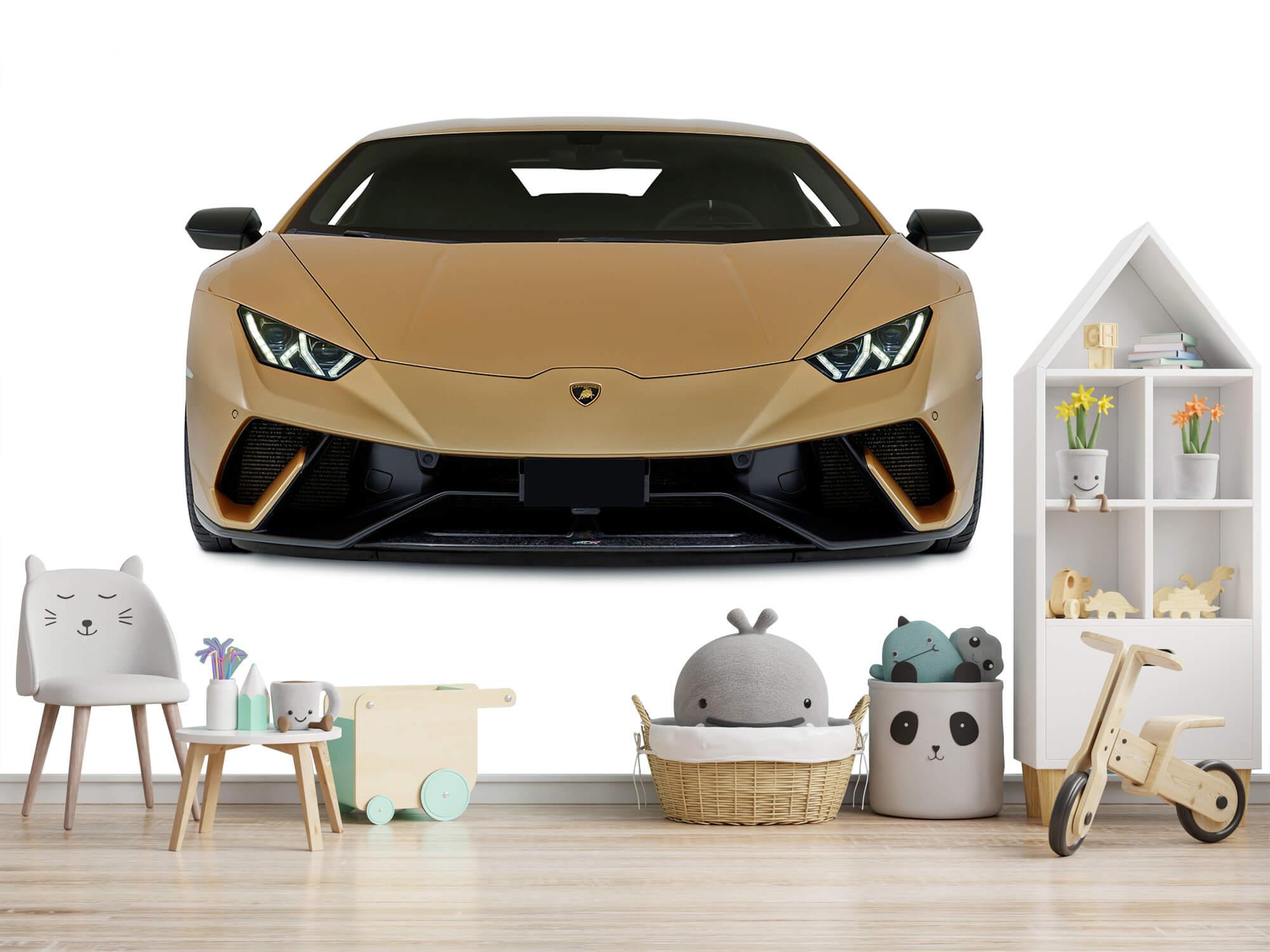 Wallpaper Lamborghini Huracán - Front, white 2