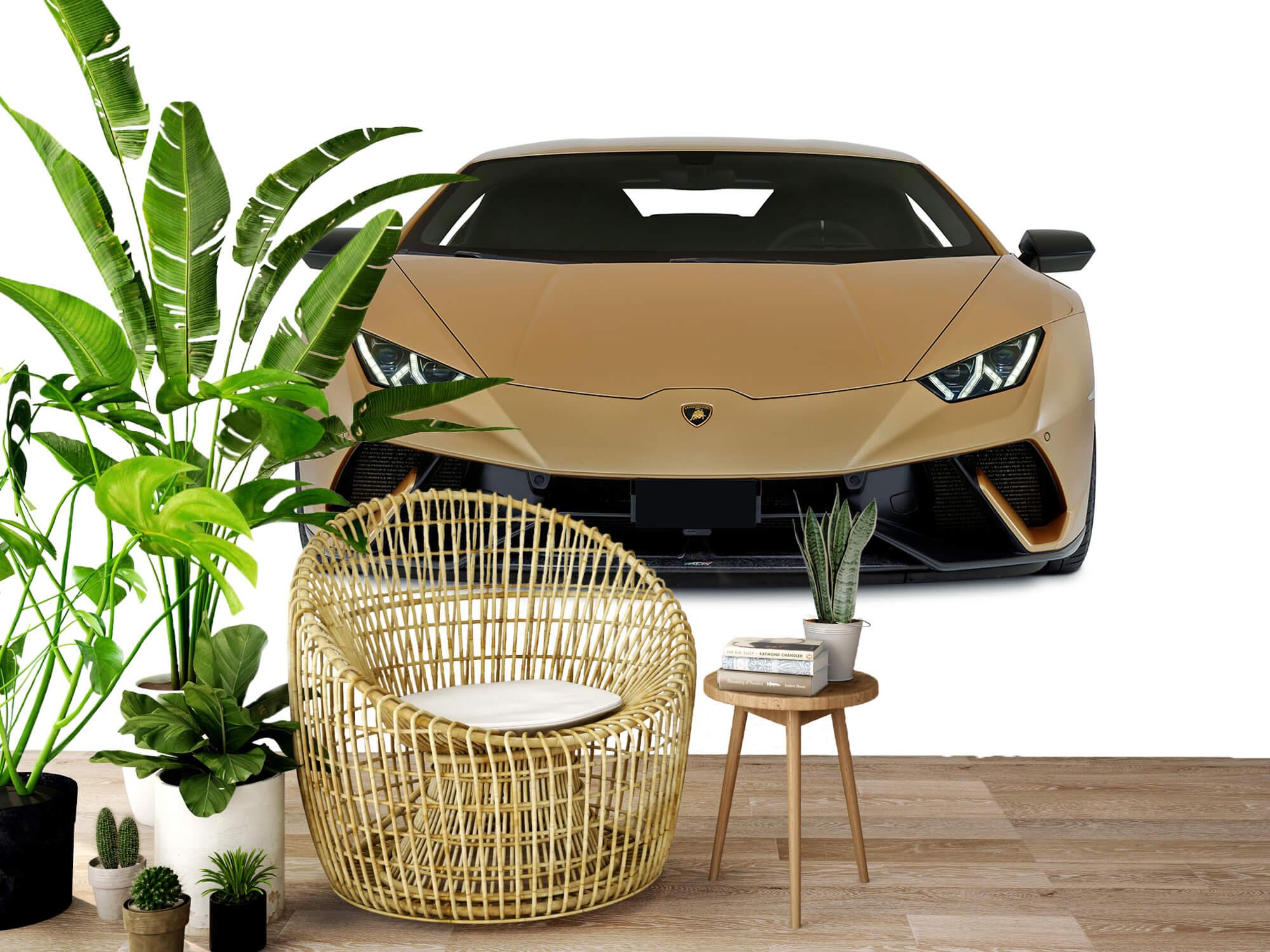 Wallpaper Lamborghini Huracán - Front, white 3