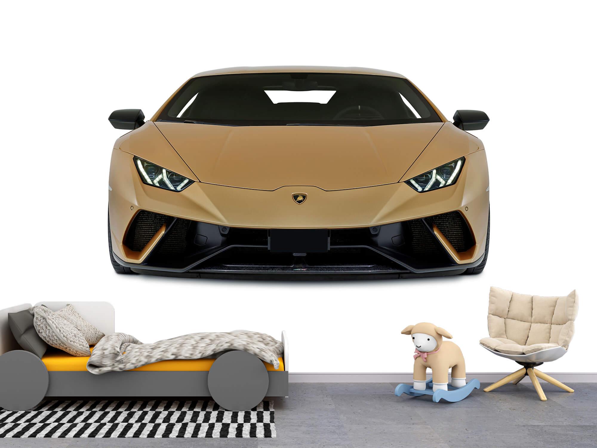 Wallpaper Lamborghini Huracán - Front, white 4