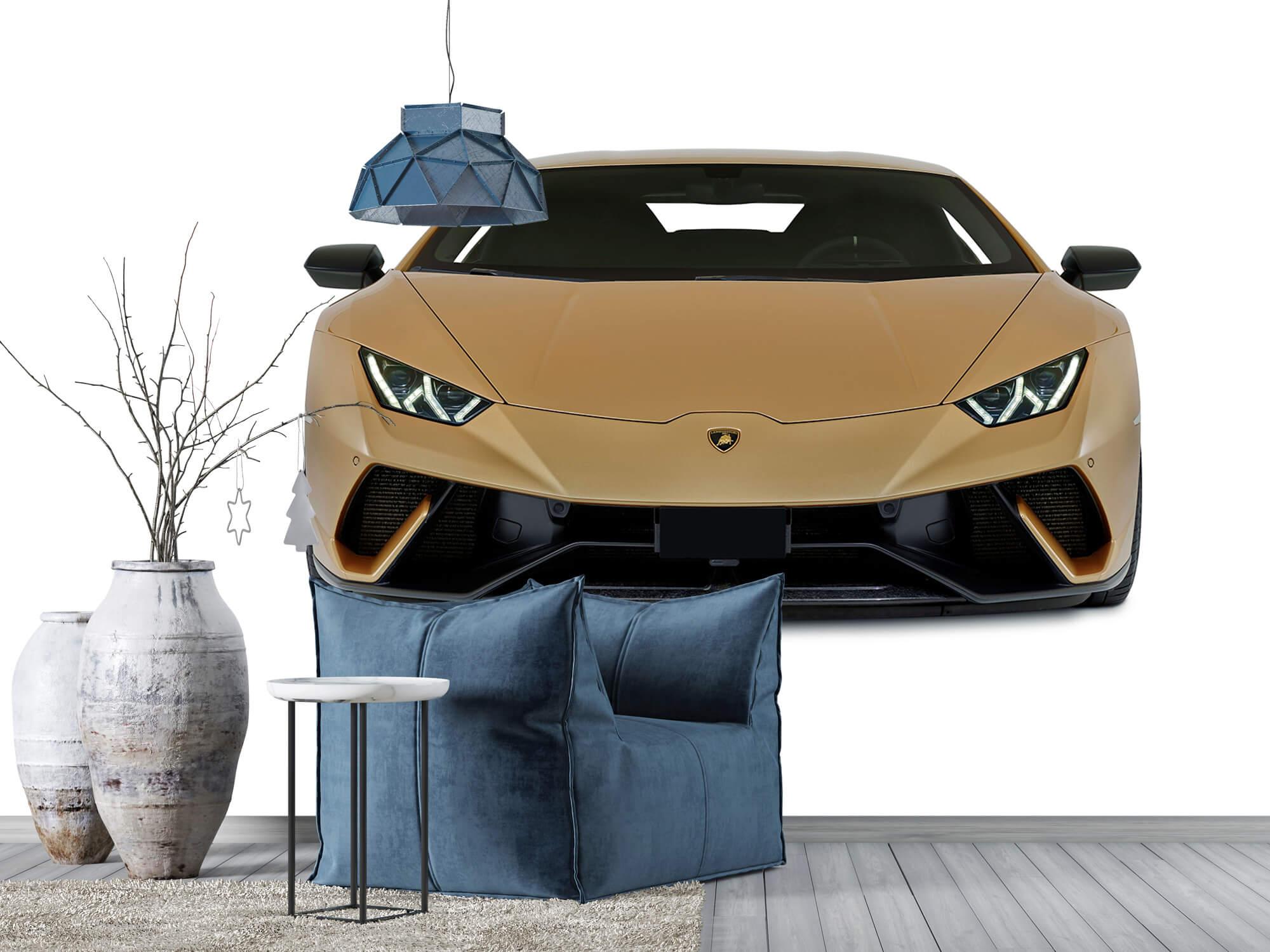 Wallpaper Lamborghini Huracán - Front, white 5