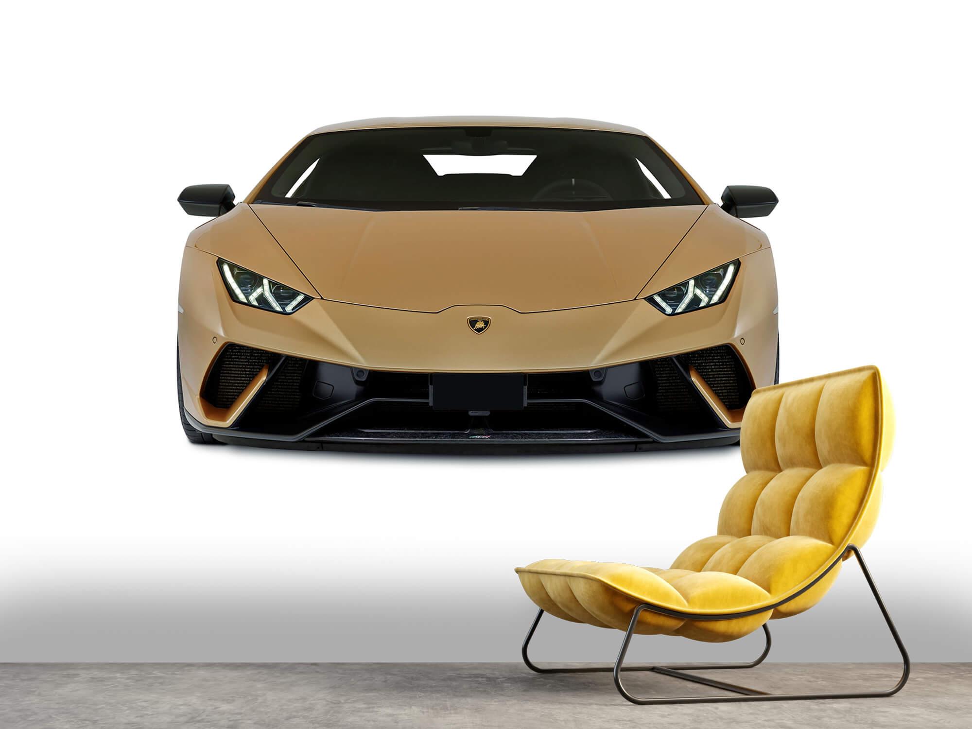 Wallpaper Lamborghini Huracán - Front, white 6