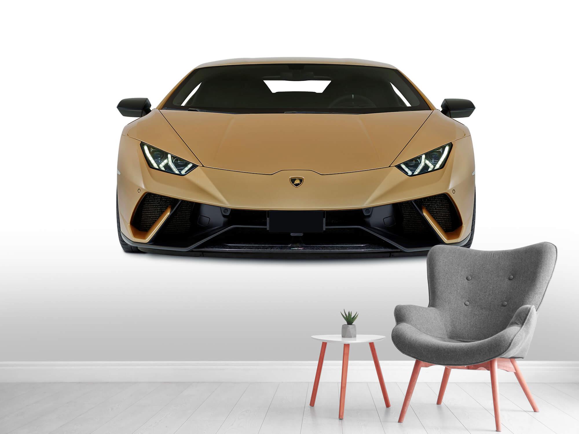 Wallpaper Lamborghini Huracán - Front, white 8