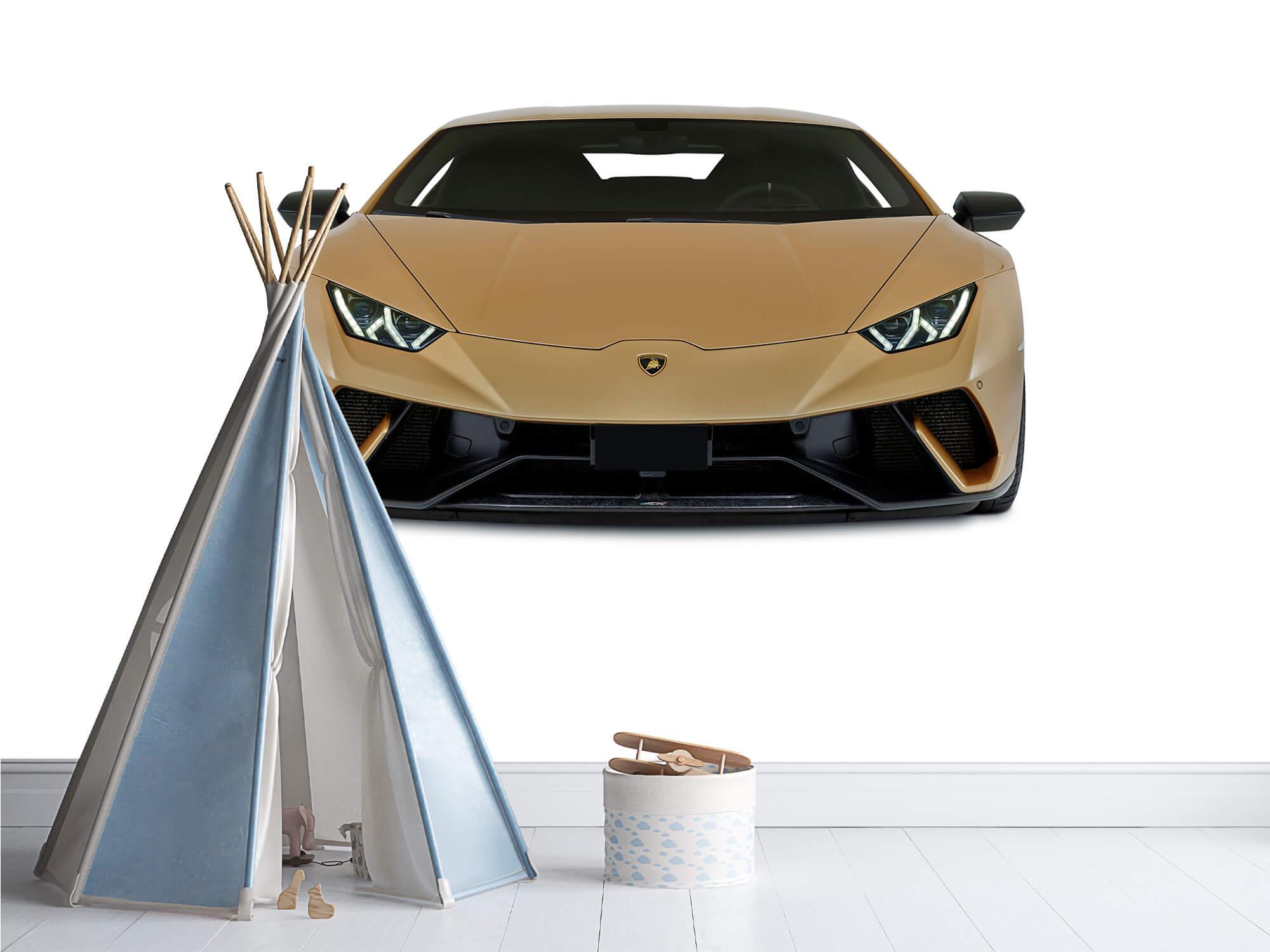Wallpaper Lamborghini Huracán - Front, white 9