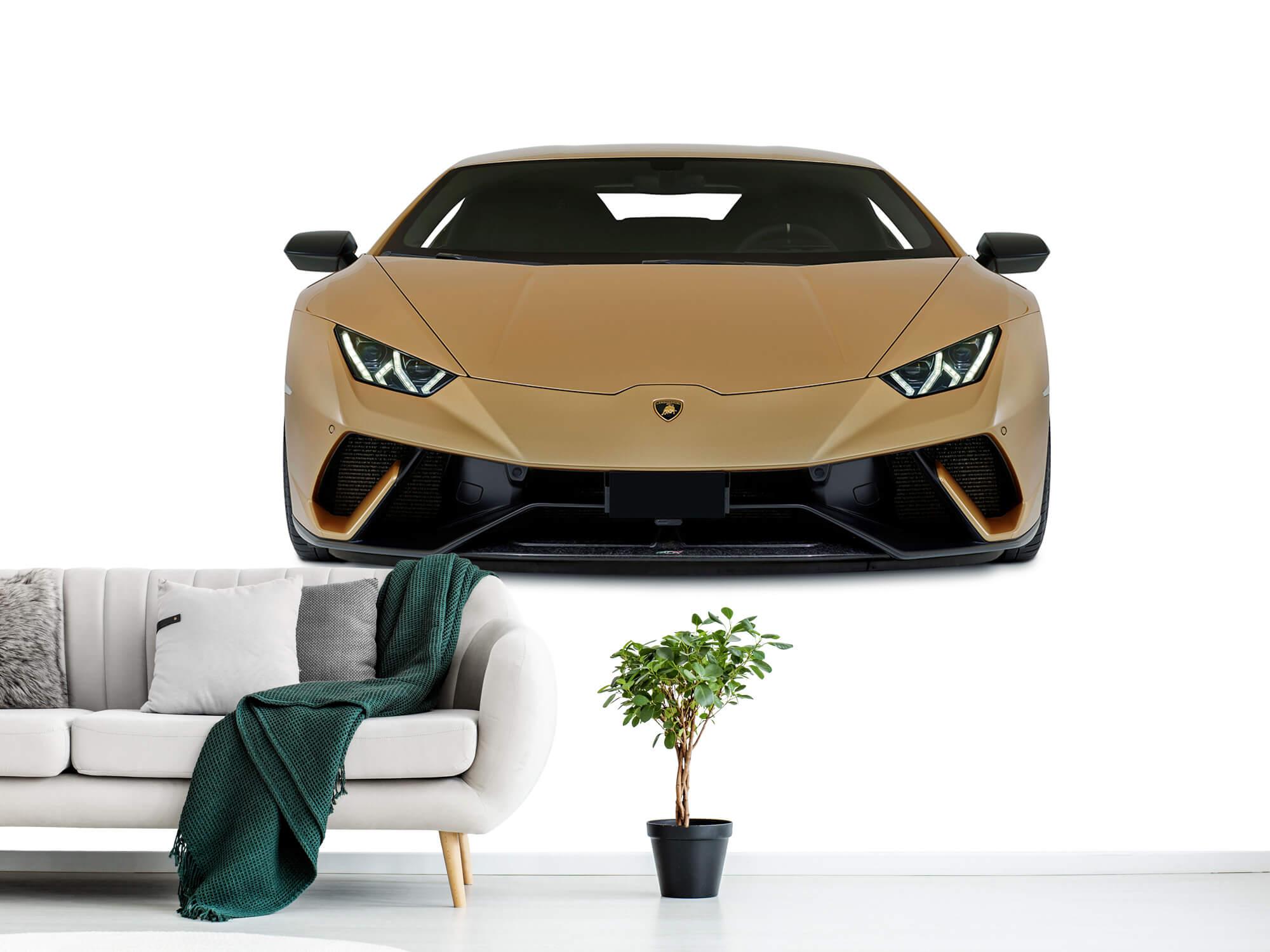 Wallpaper Lamborghini Huracán - Front, white 10