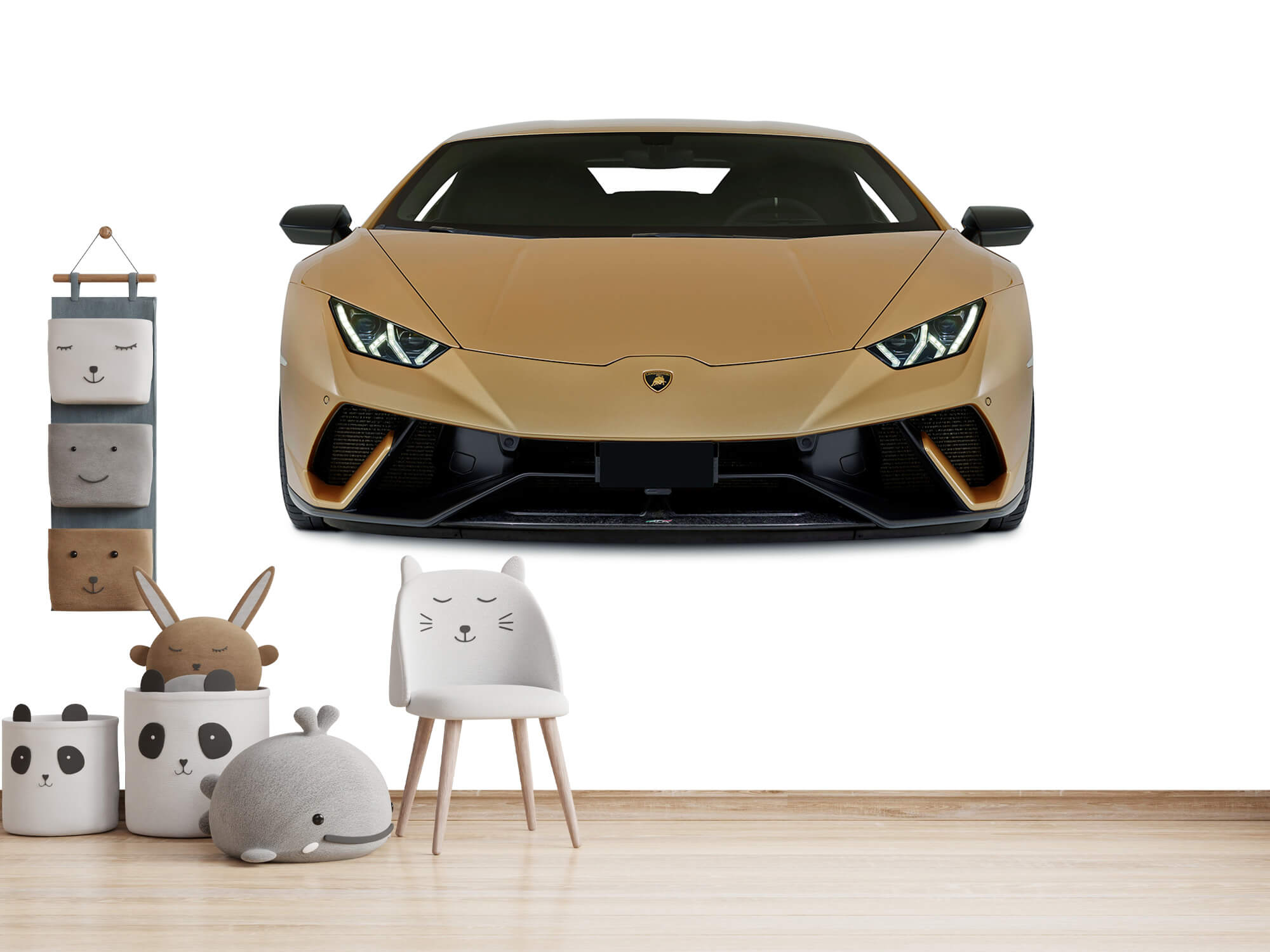 Wallpaper Lamborghini Huracán - Front, white 12