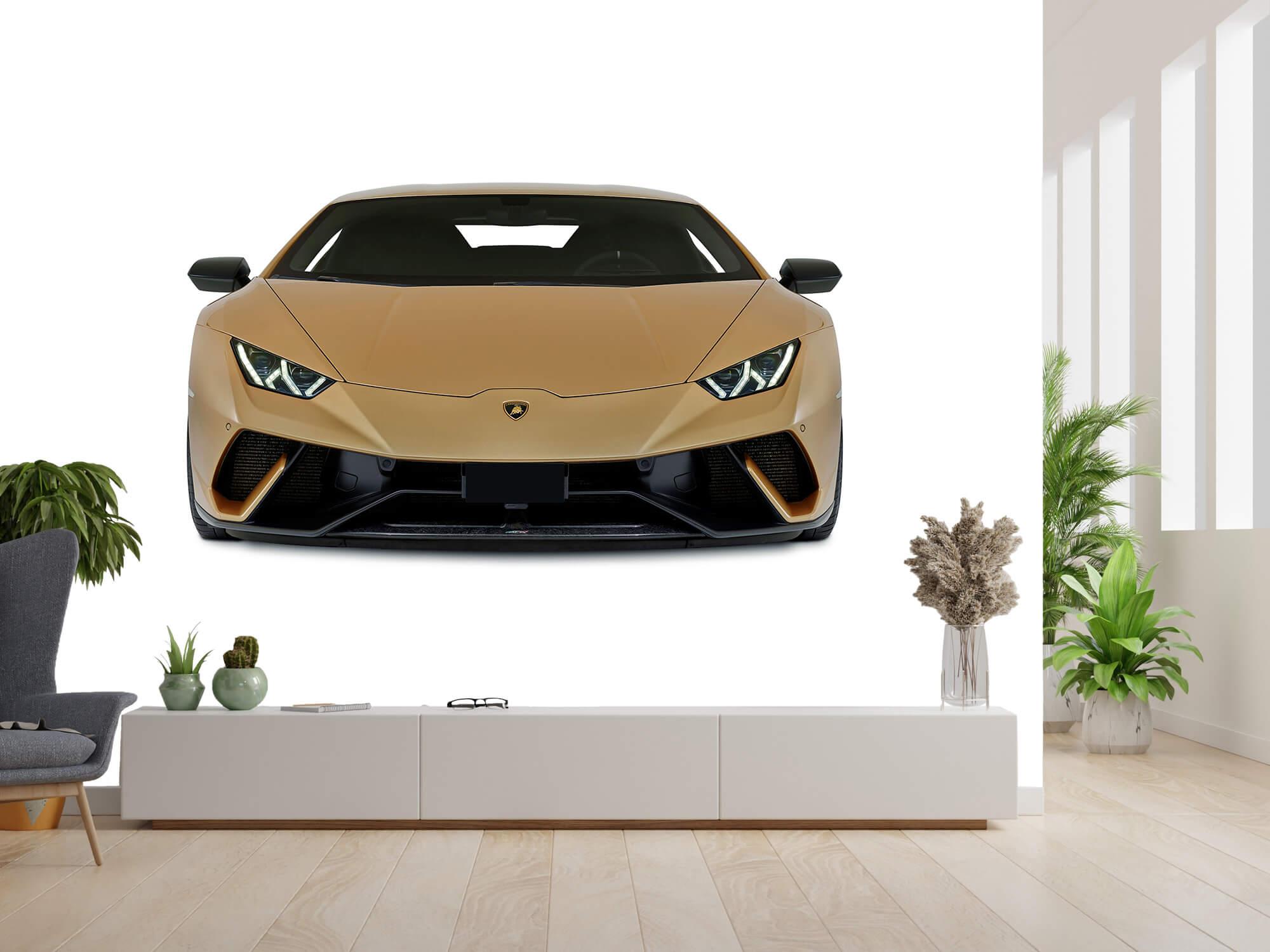 Wallpaper Lamborghini Huracán - Front, white 13