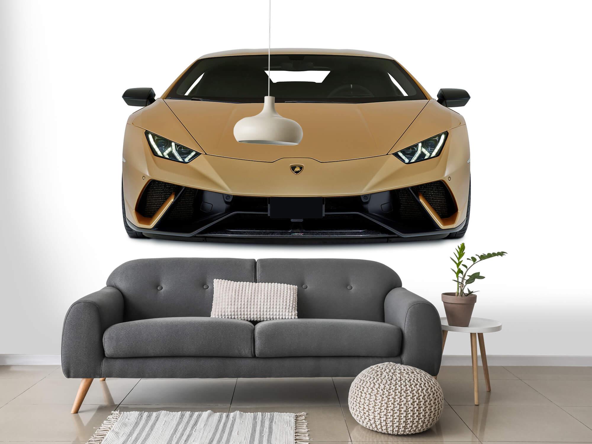 Wallpaper Lamborghini Huracán - Front, white 14