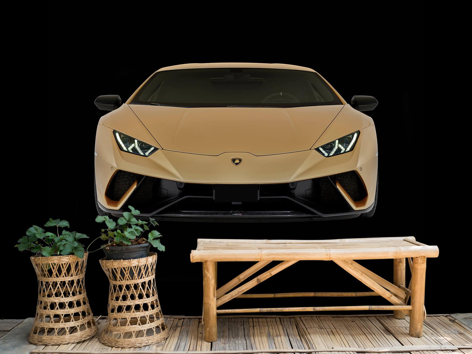 Wallpaper Lamborghini Huracán - Front, black 5