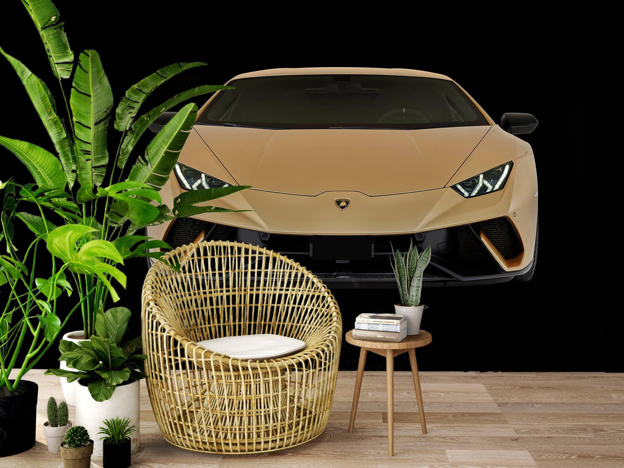 Wallpaper Lamborghini Huracán - Front, black 7