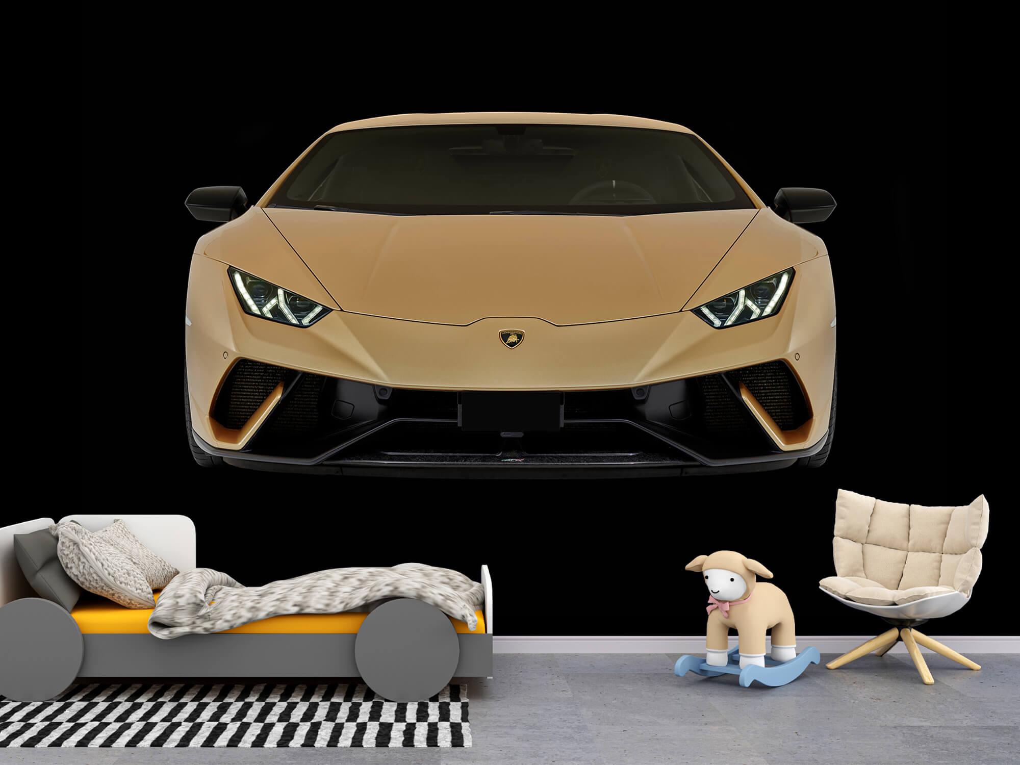 Wallpaper Lamborghini Huracán - Front, black 9