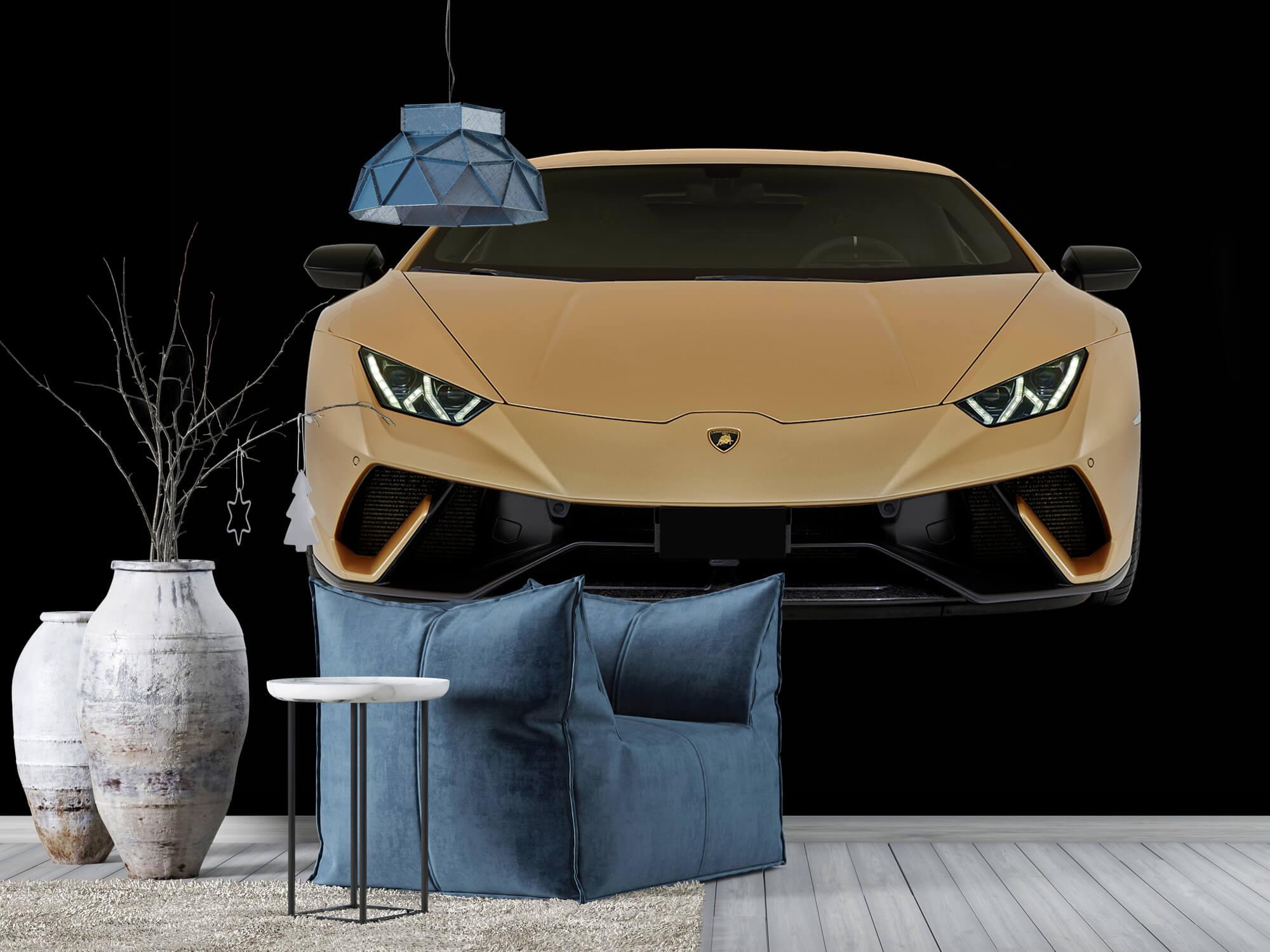 Wallpaper Lamborghini Huracán - Front, black 10