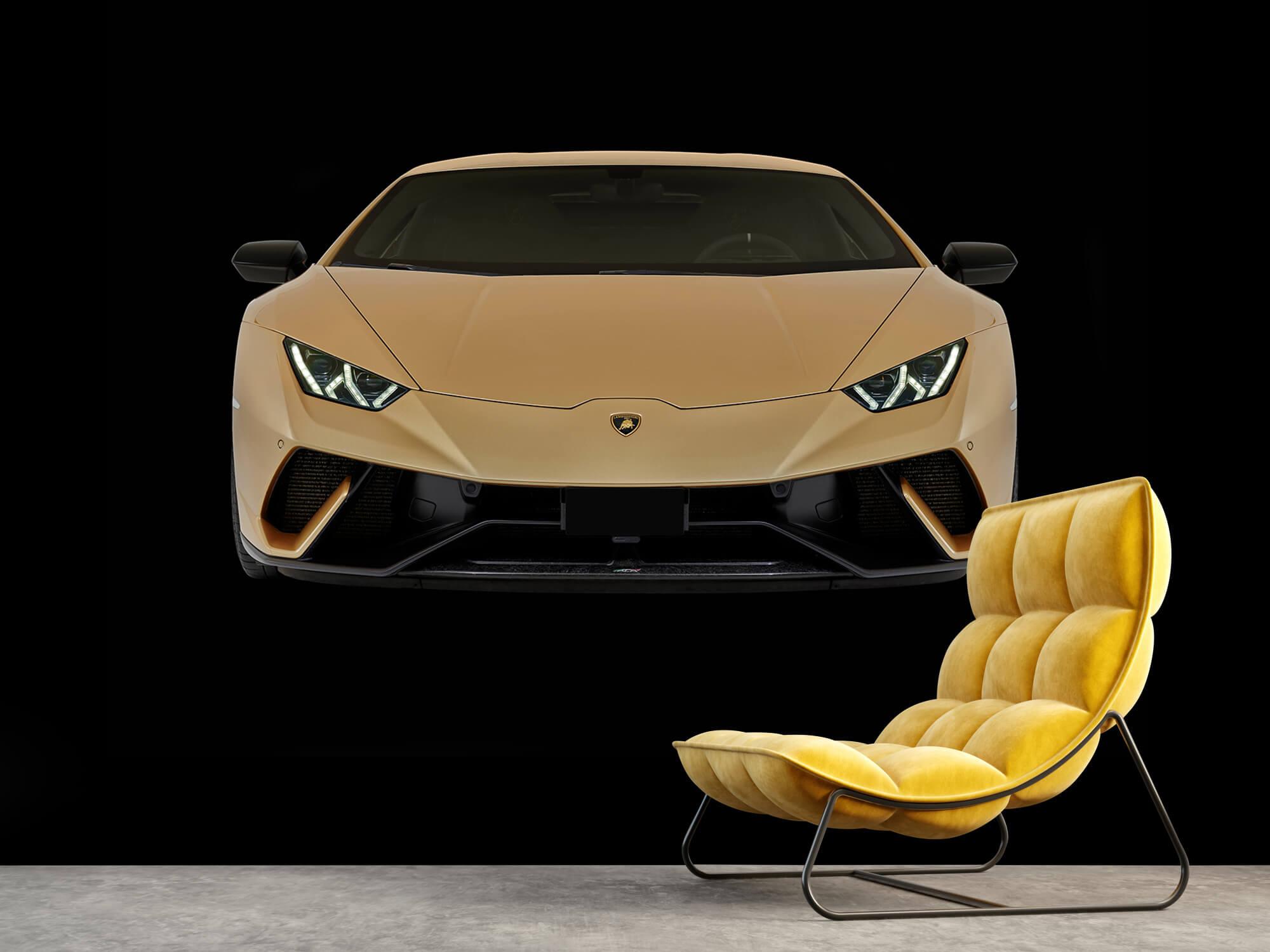 Wallpaper Lamborghini Huracán - Front, black 4
