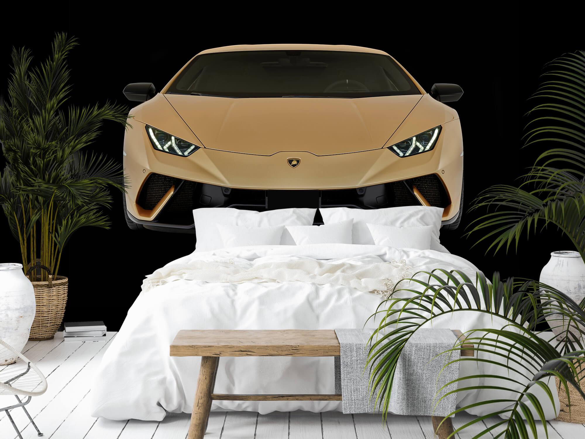 Wallpaper Lamborghini Huracán - Front, black 11