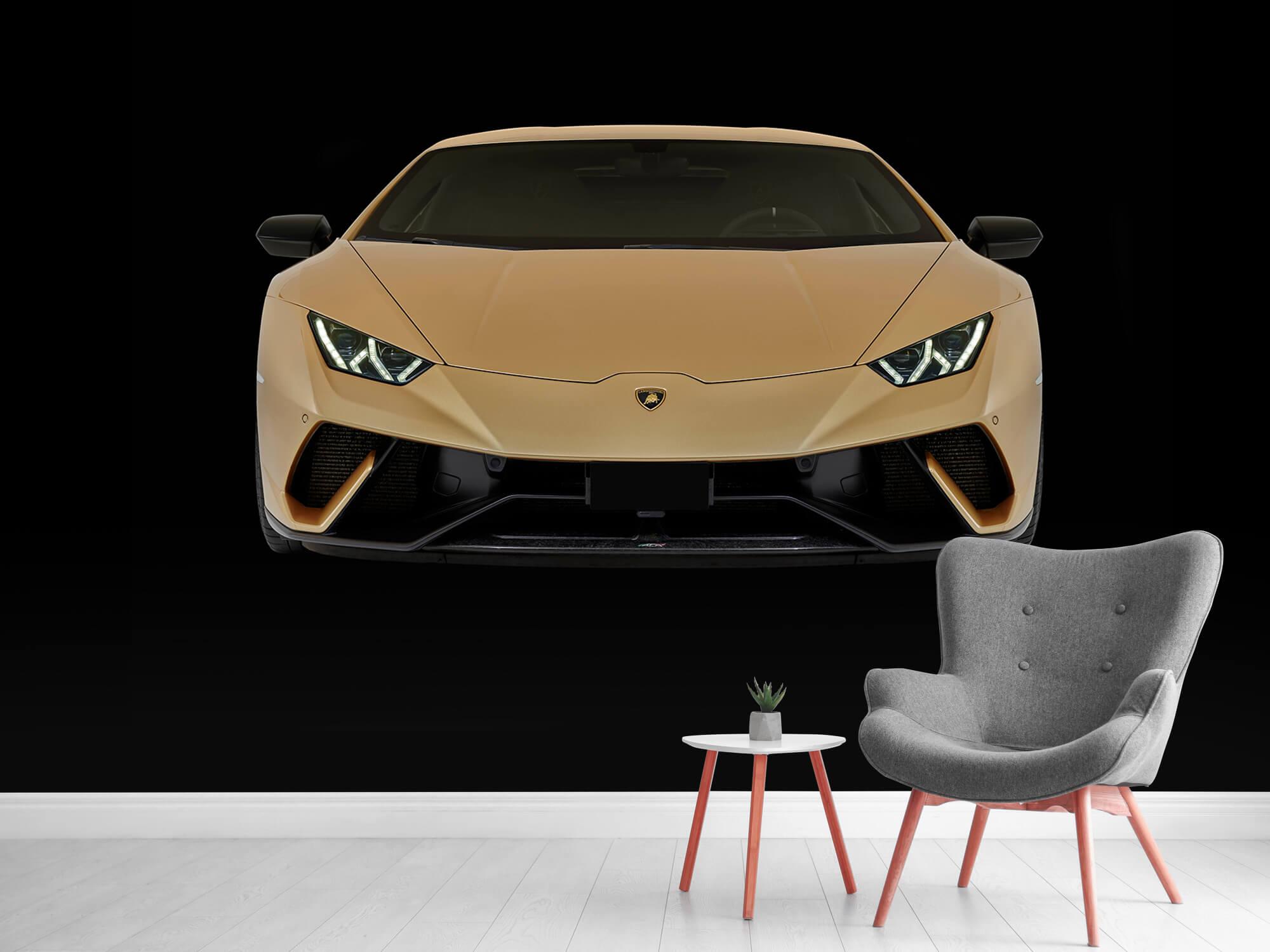 Wallpaper Lamborghini Huracán - Front, black 12