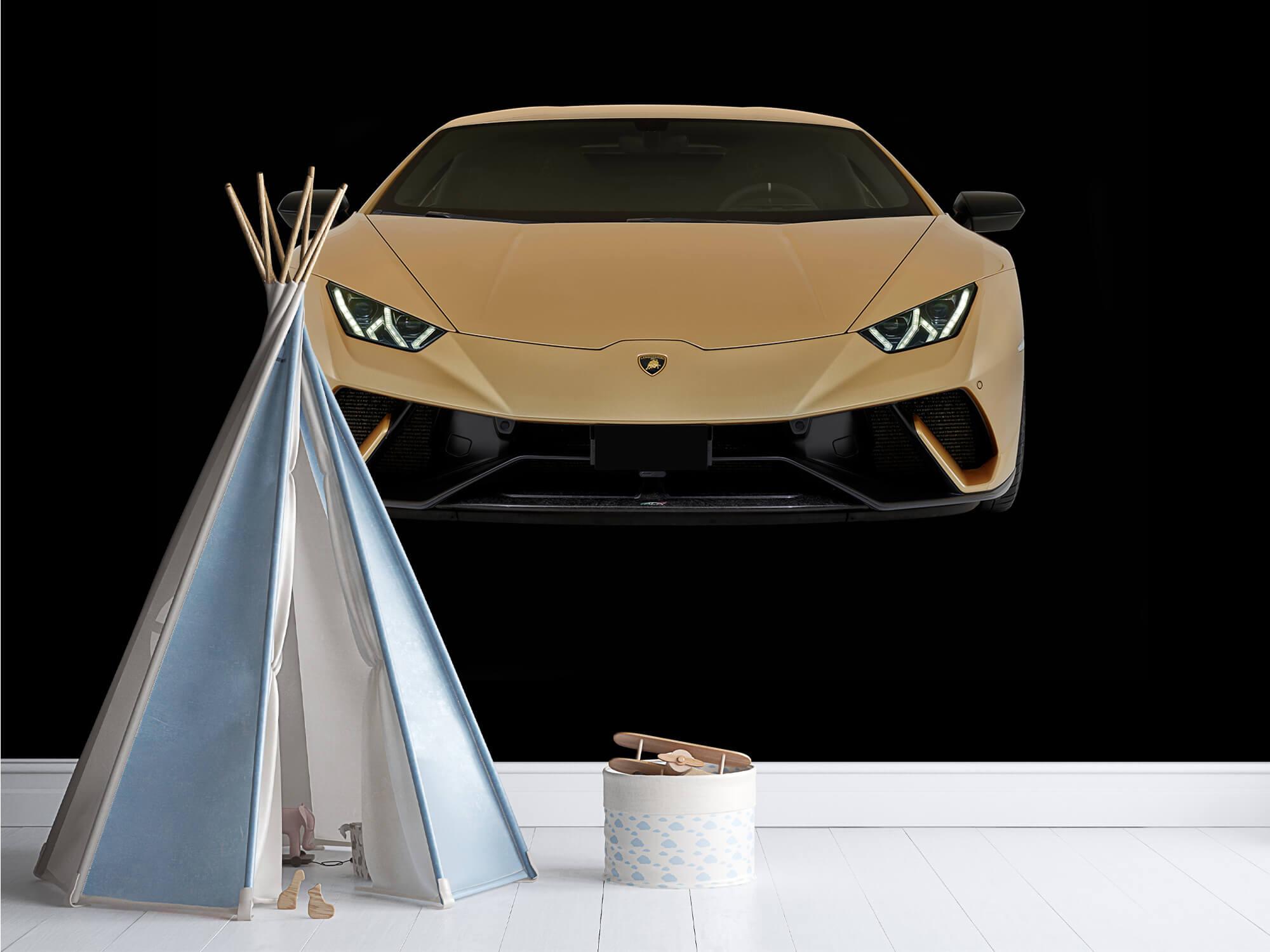 Wallpaper Lamborghini Huracán - Front, black 13