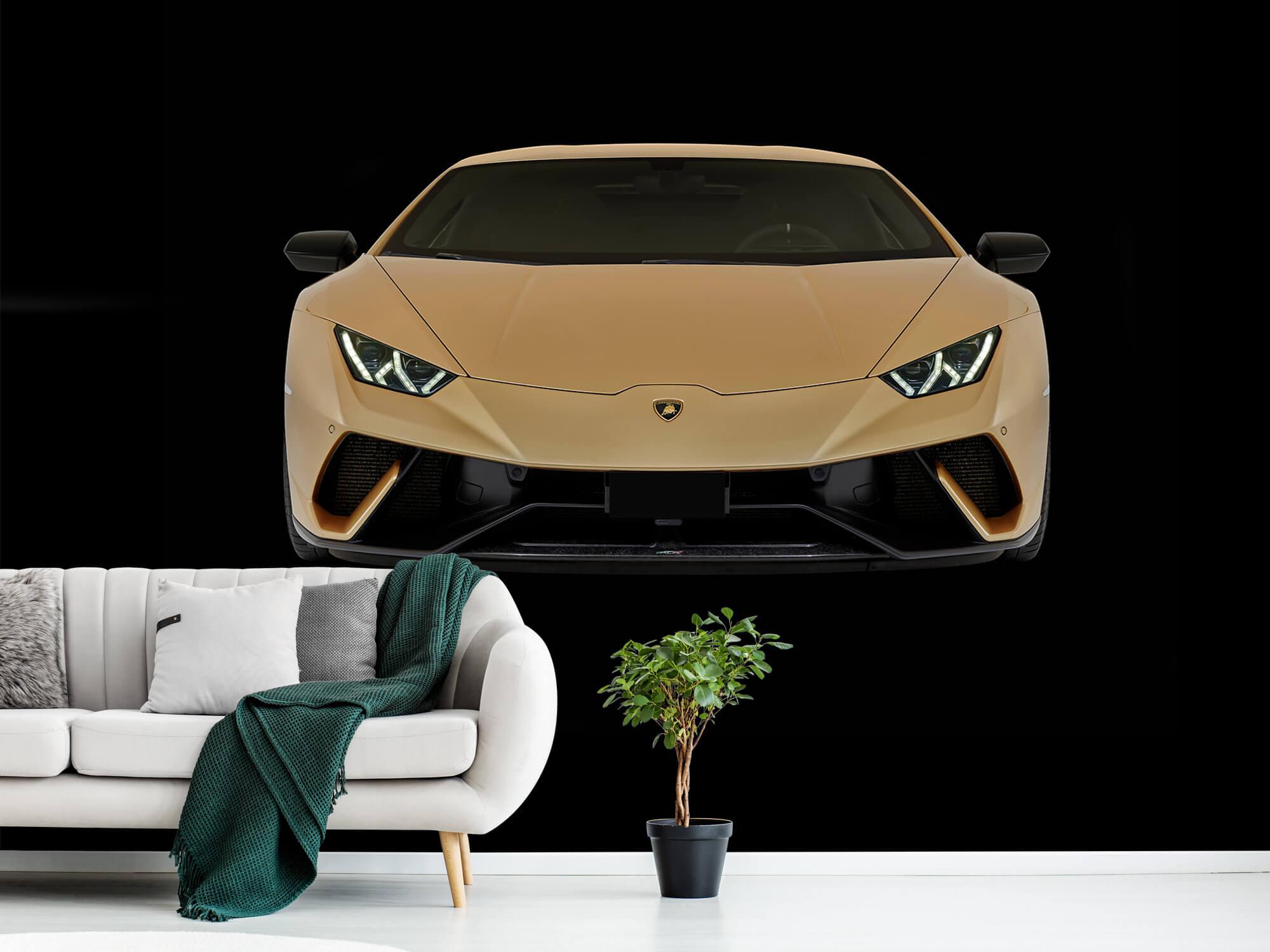 Wallpaper Lamborghini Huracán - Front, black 1