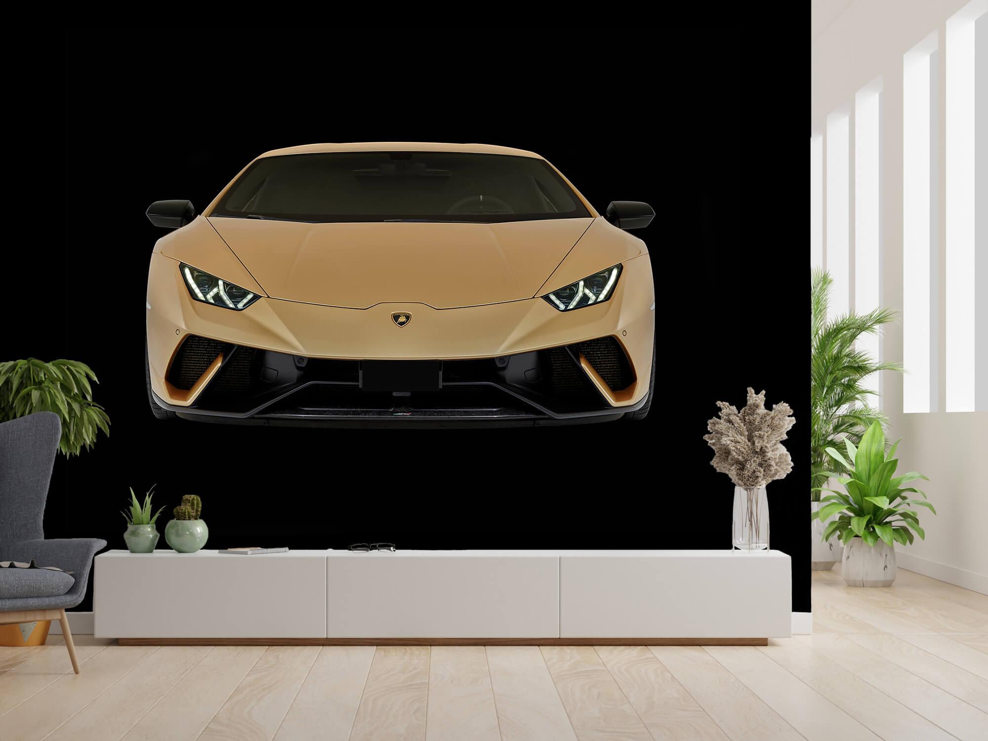 Wallpaper Lamborghini Huracán - Front, black 2