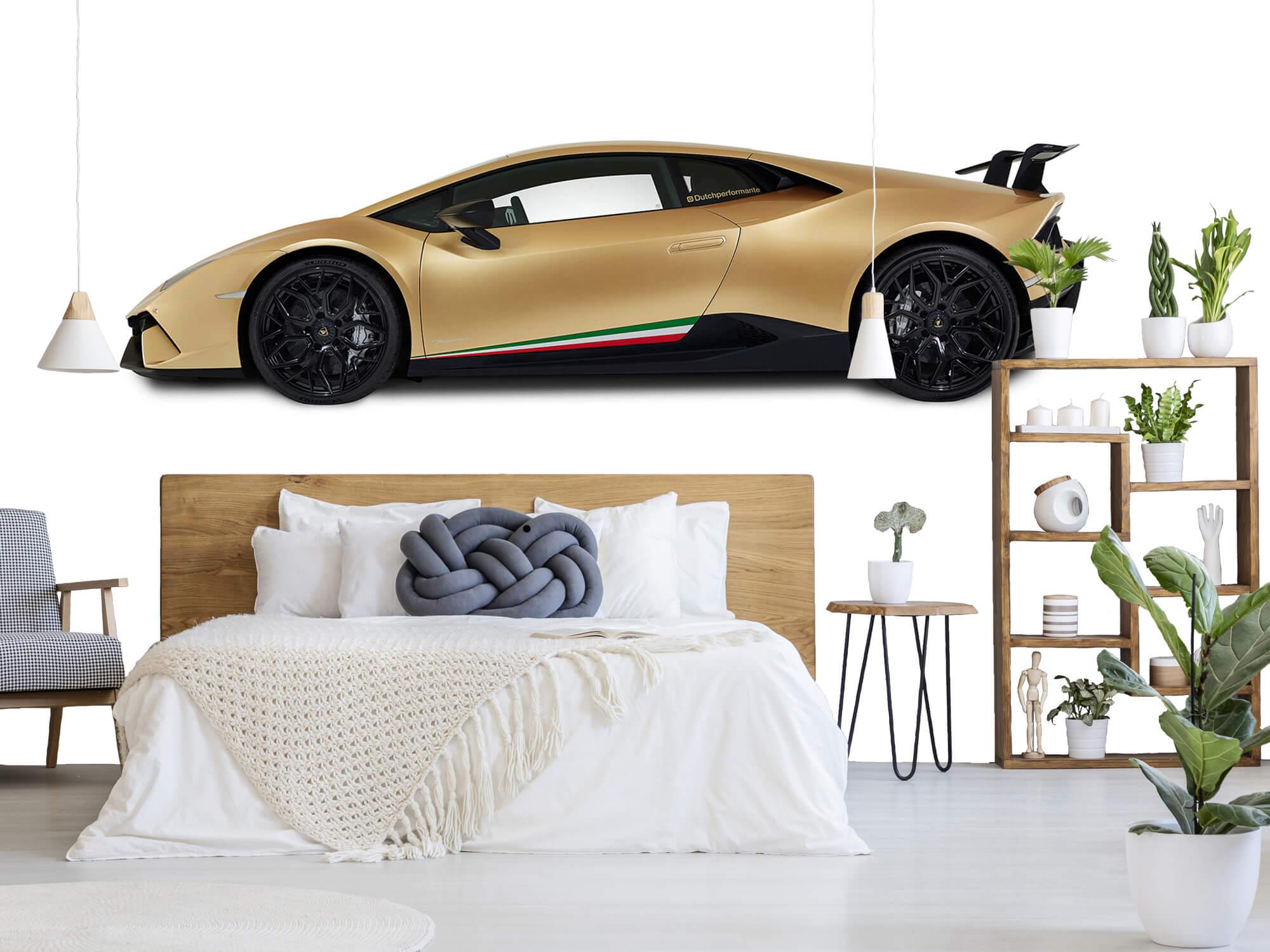 Wallpaper Lamborghini Huracán - Side, white 8