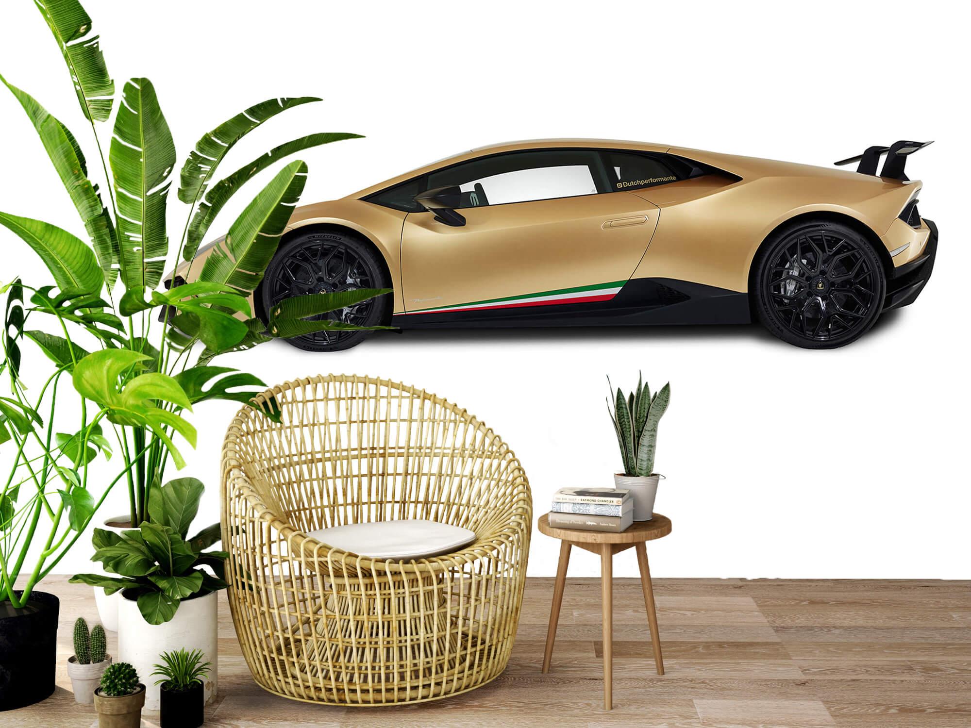 Wallpaper Lamborghini Huracán - Side, white 9