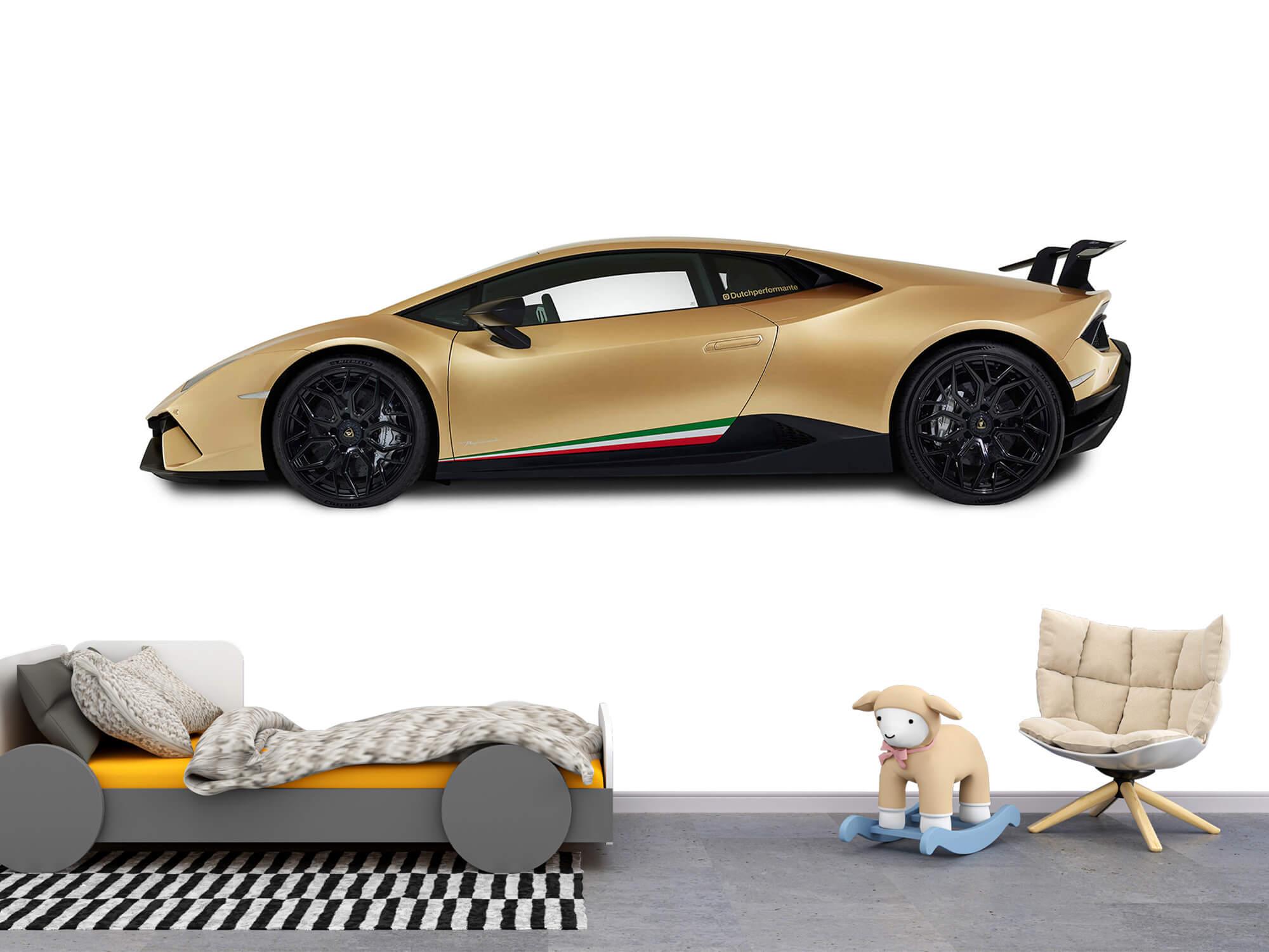 Wallpaper Lamborghini Huracán - Side, white 11
