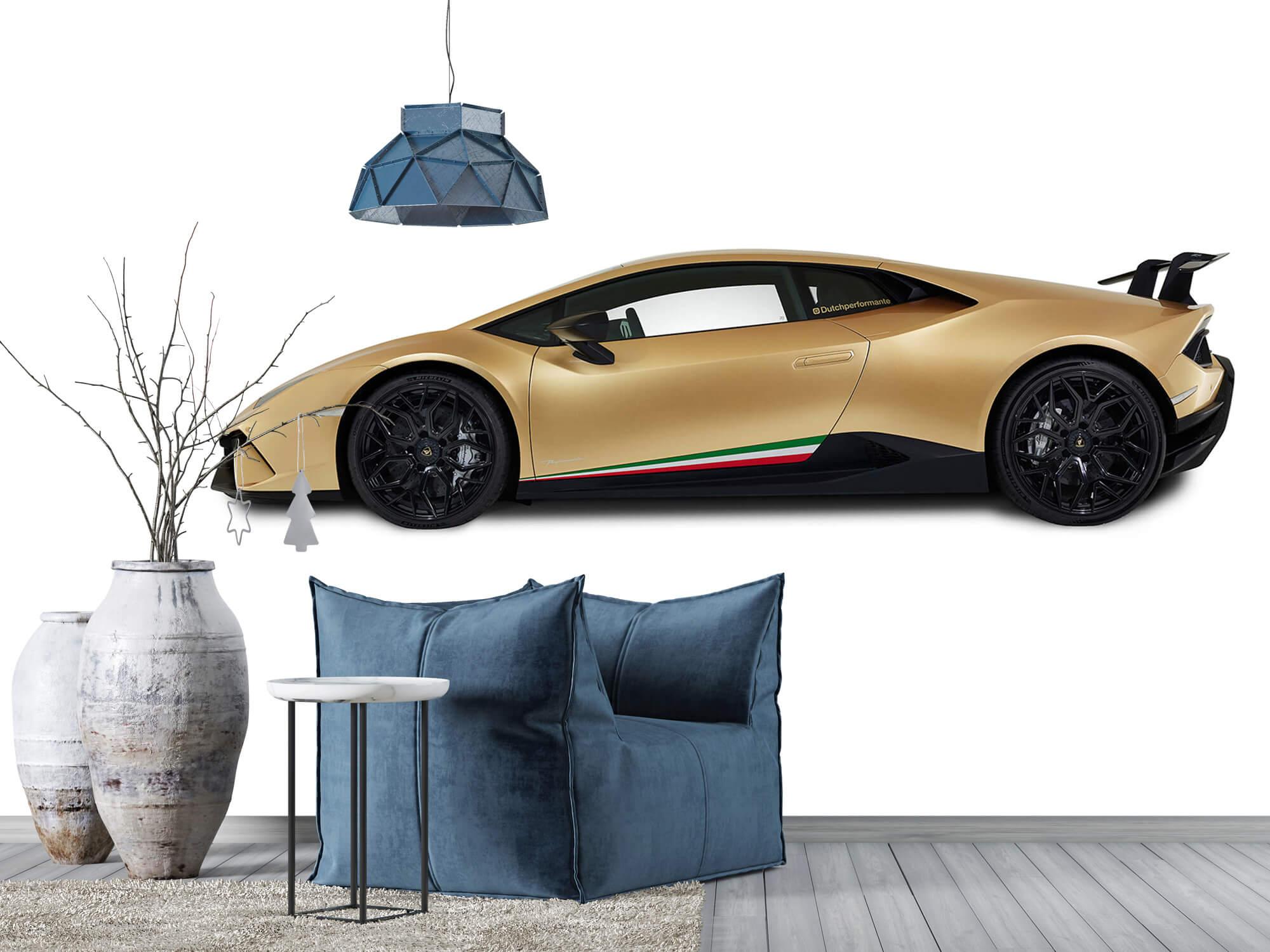 Wallpaper Lamborghini Huracán - Side, white 12