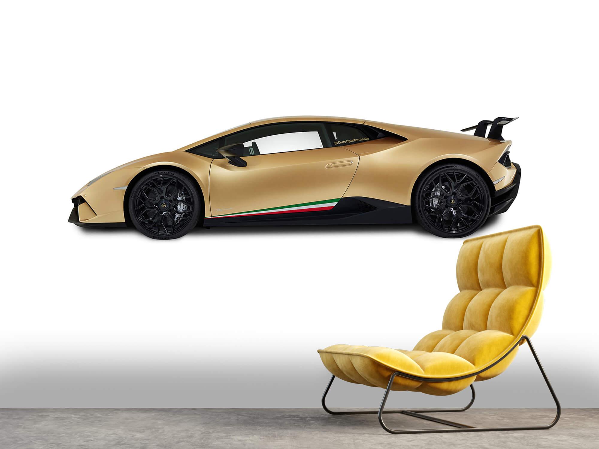 Wallpaper Lamborghini Huracán - Side, white 2