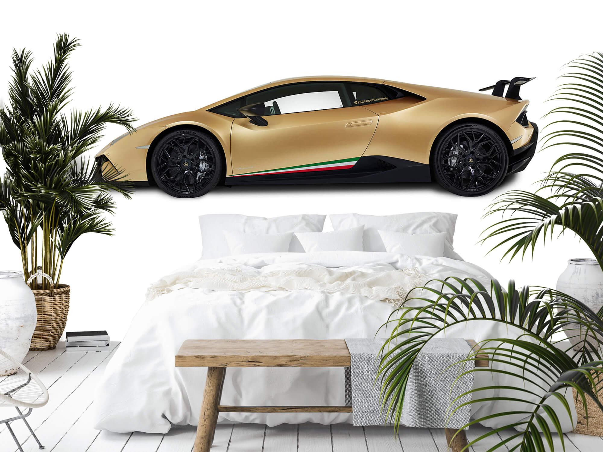 Wallpaper Lamborghini Huracán - Side, white 3