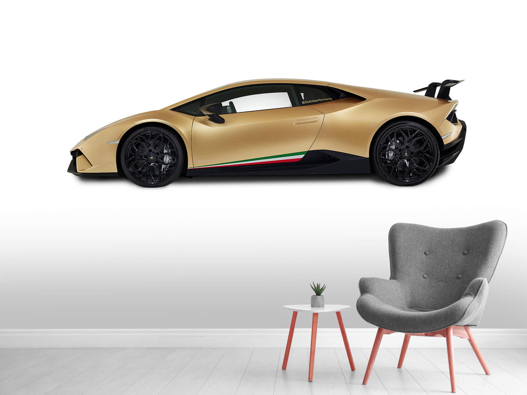 Wallpaper Lamborghini Huracán - Side, white 5