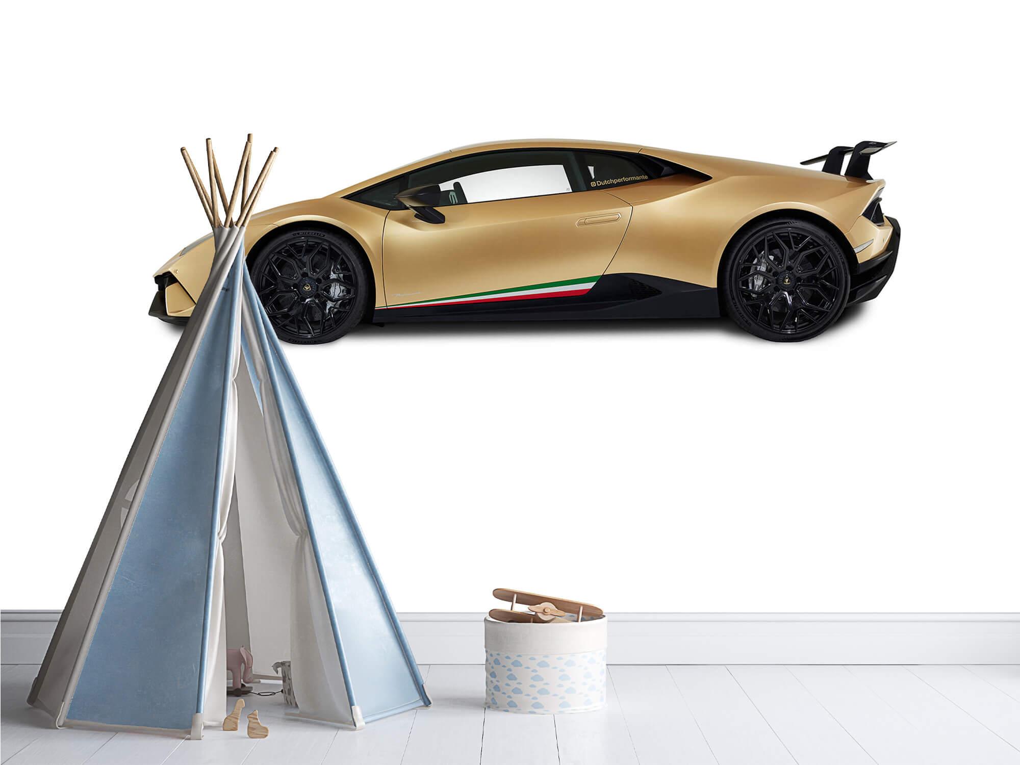Wallpaper Lamborghini Huracán - Side, white 4