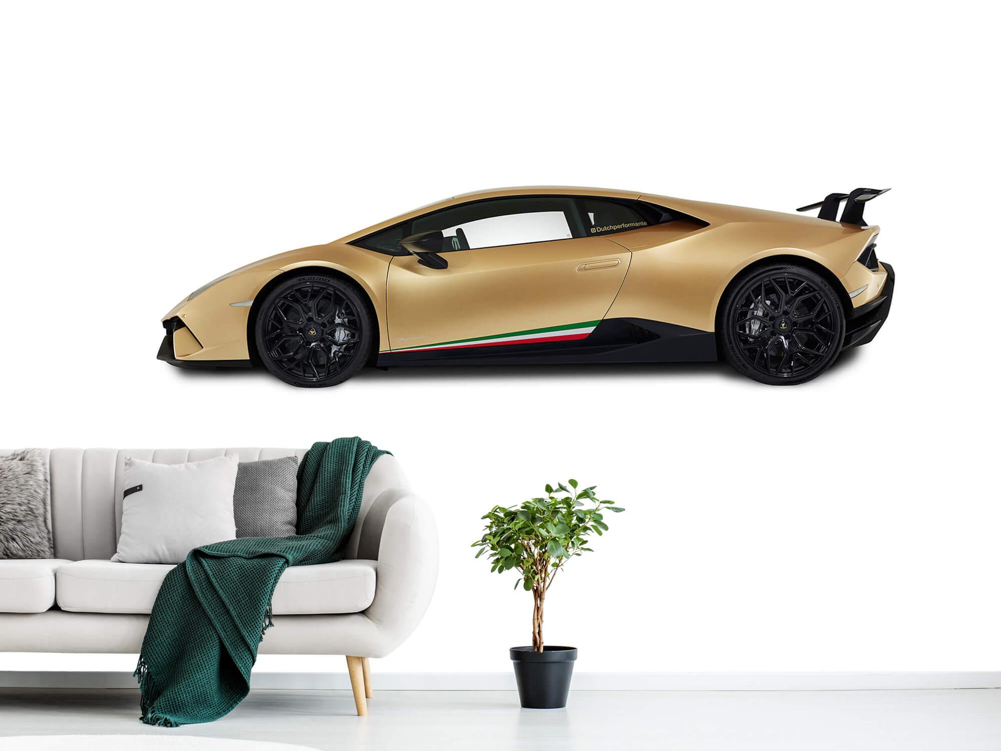 Wallpaper Lamborghini Huracán - Side, white 1