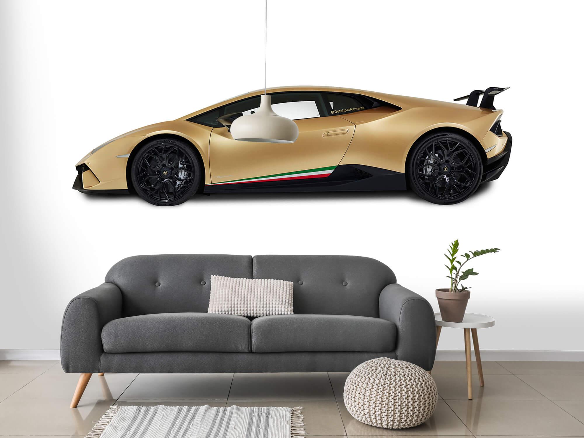 Wallpaper Lamborghini Huracán - Side, white 15