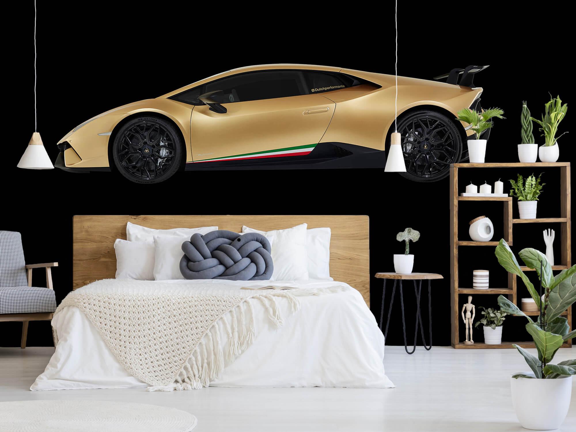 Wallpaper Lamborghini Huracán - Side, black 5