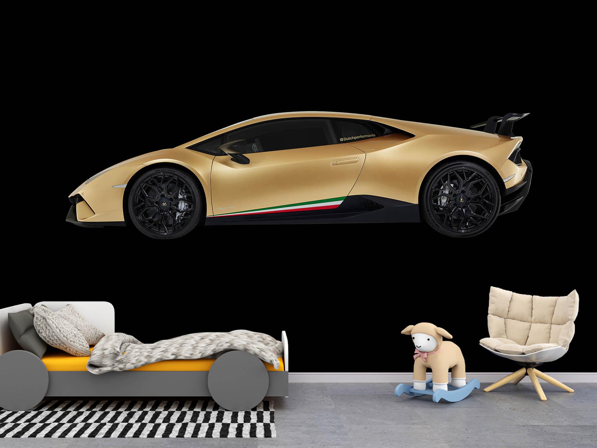Wallpaper Lamborghini Huracán - Side, black 8