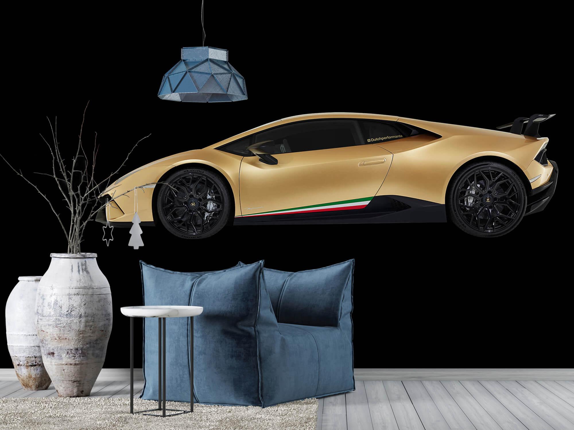 Wallpaper Lamborghini Huracán - Side, black 9