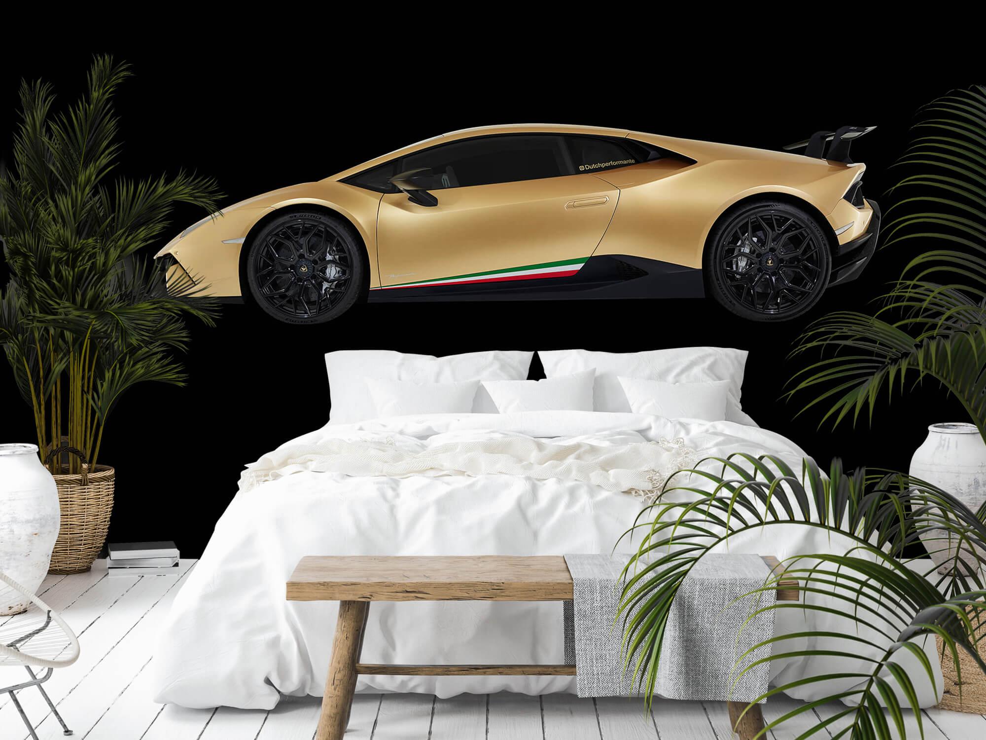 Wallpaper Lamborghini Huracán - Side, black 4